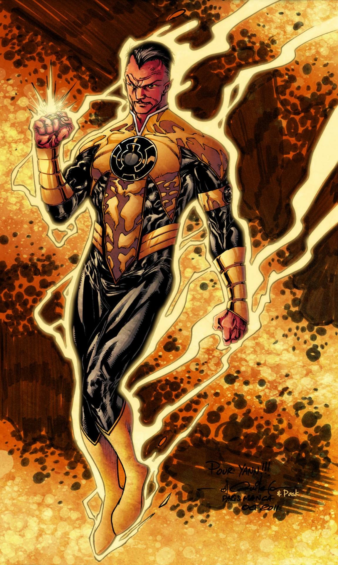 1151x1920 Nice Images Collection: Sinestro Desktop Wallpapers