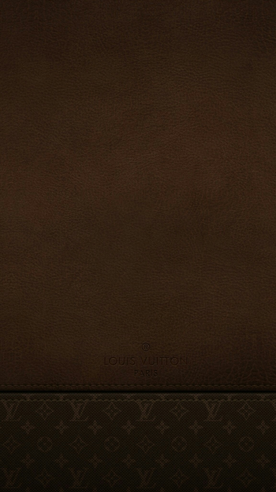 1152x2048 Brown Leather Louis Vuitton Wallpaper