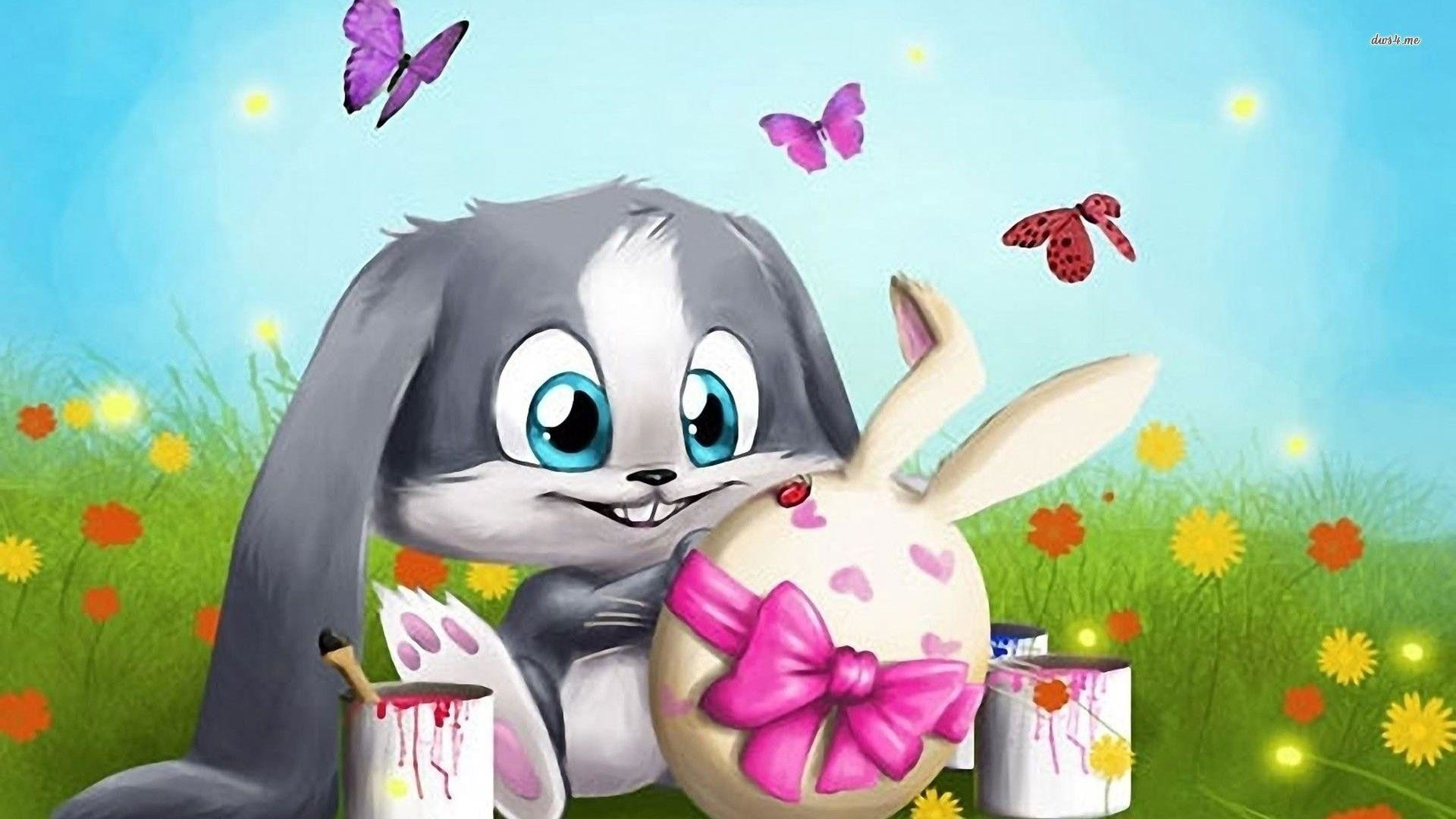 1920x1080 Wallpapers For > Easter Bunny Wallpaper Backgrounds