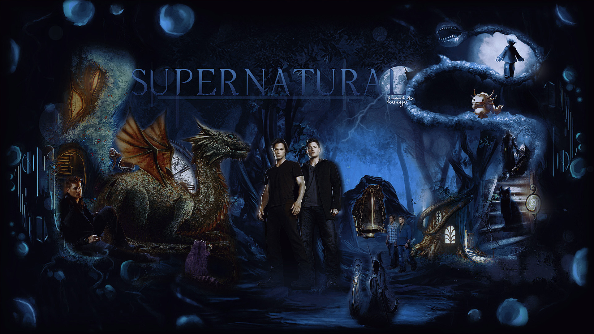 1920x1080 supernatural wallpaper hd movies