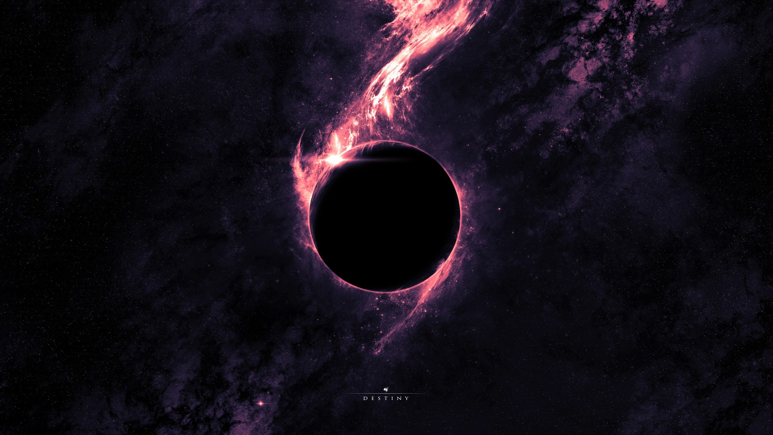 2560x1440 Space Black Hole wallpapers (16 Wallpapers)