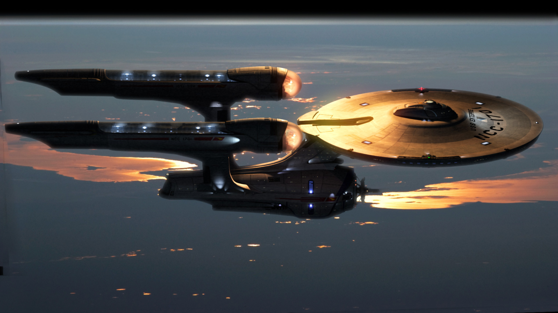 1920x1080 Star Trek Enterprise HD wallpaper