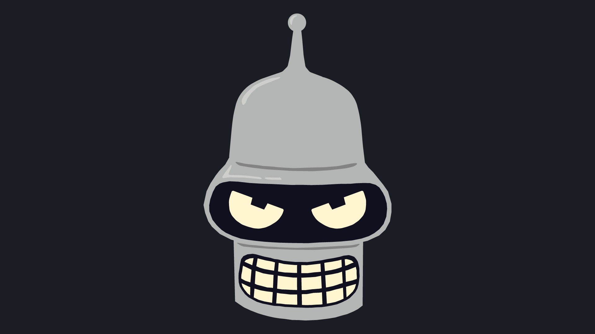 1920x1080  Bender From Futurama Vector Art Bender Futurama