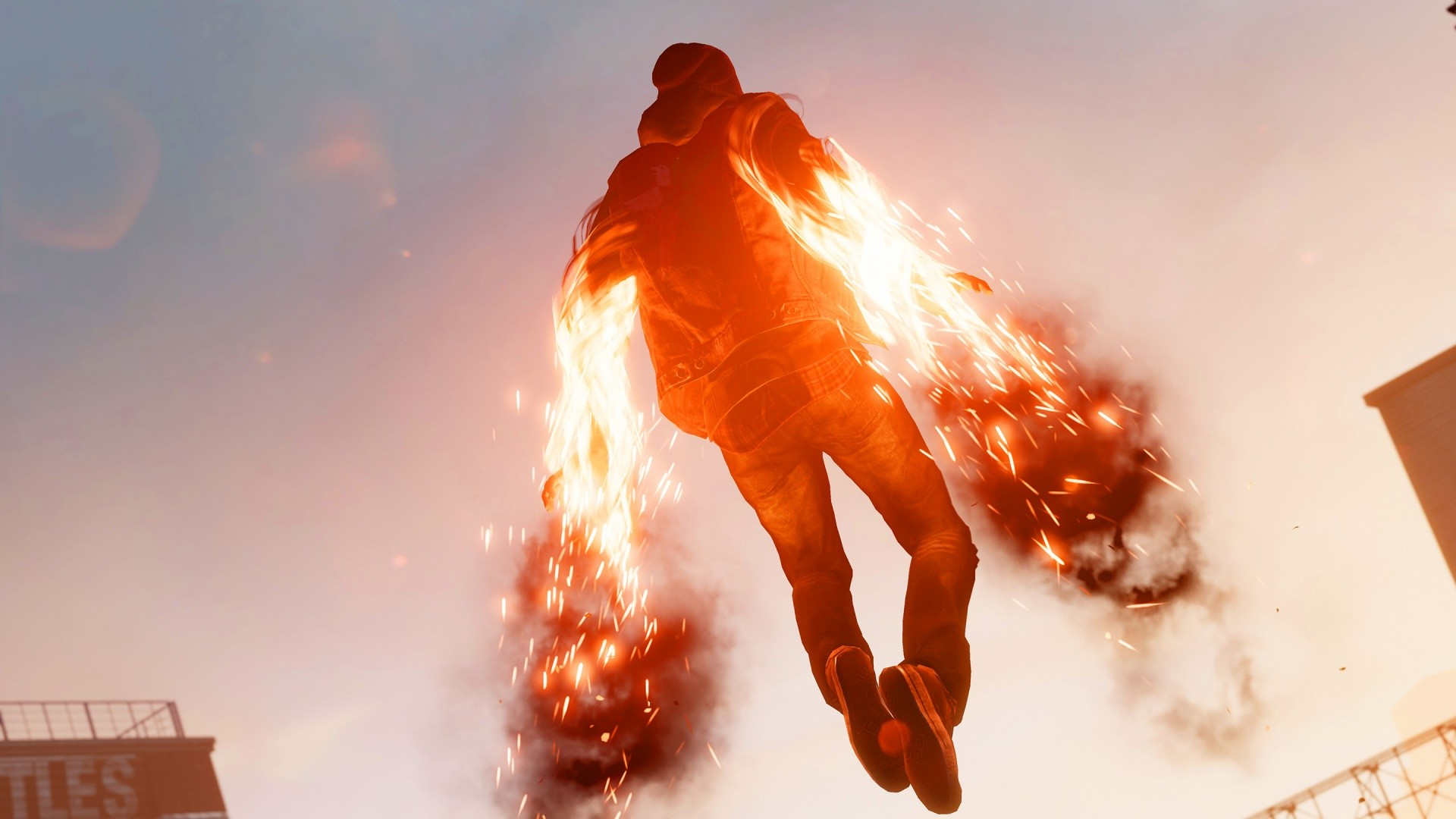 1920x1080 Infamous Second Son Wallpaper