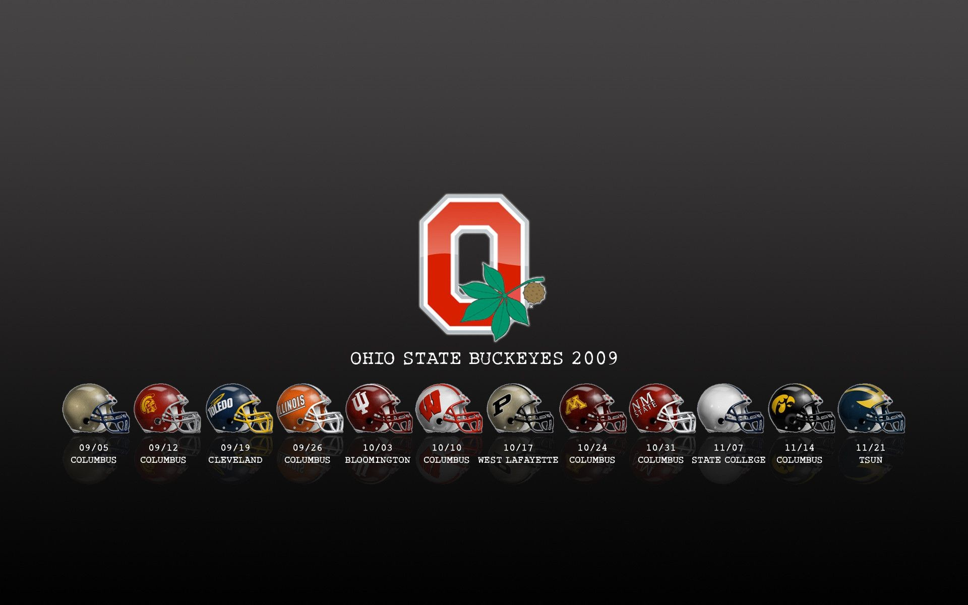 1920x1200 Ohio State Football Wallpaper