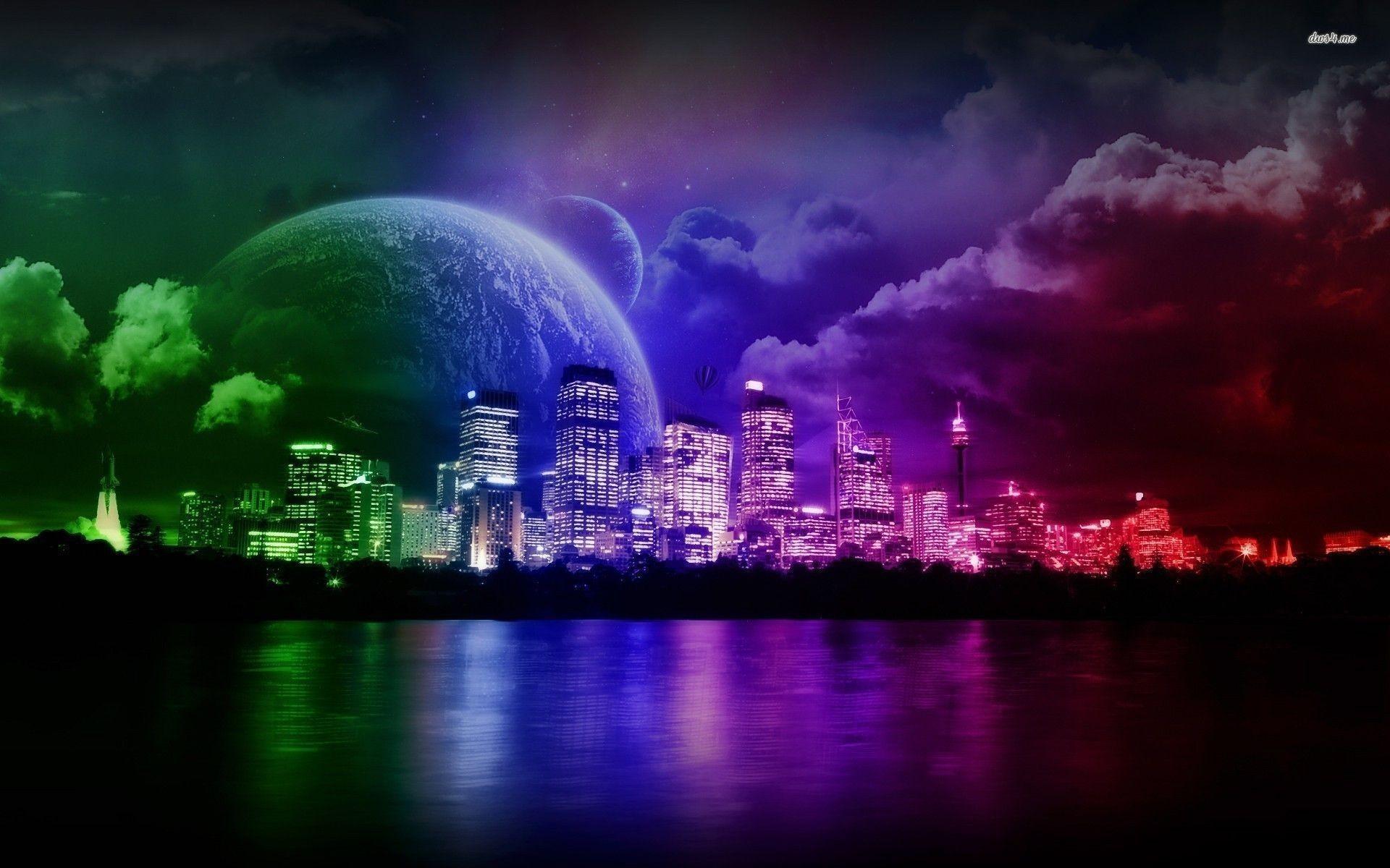 Neon Wallpapers For Desktop Background 77 Images