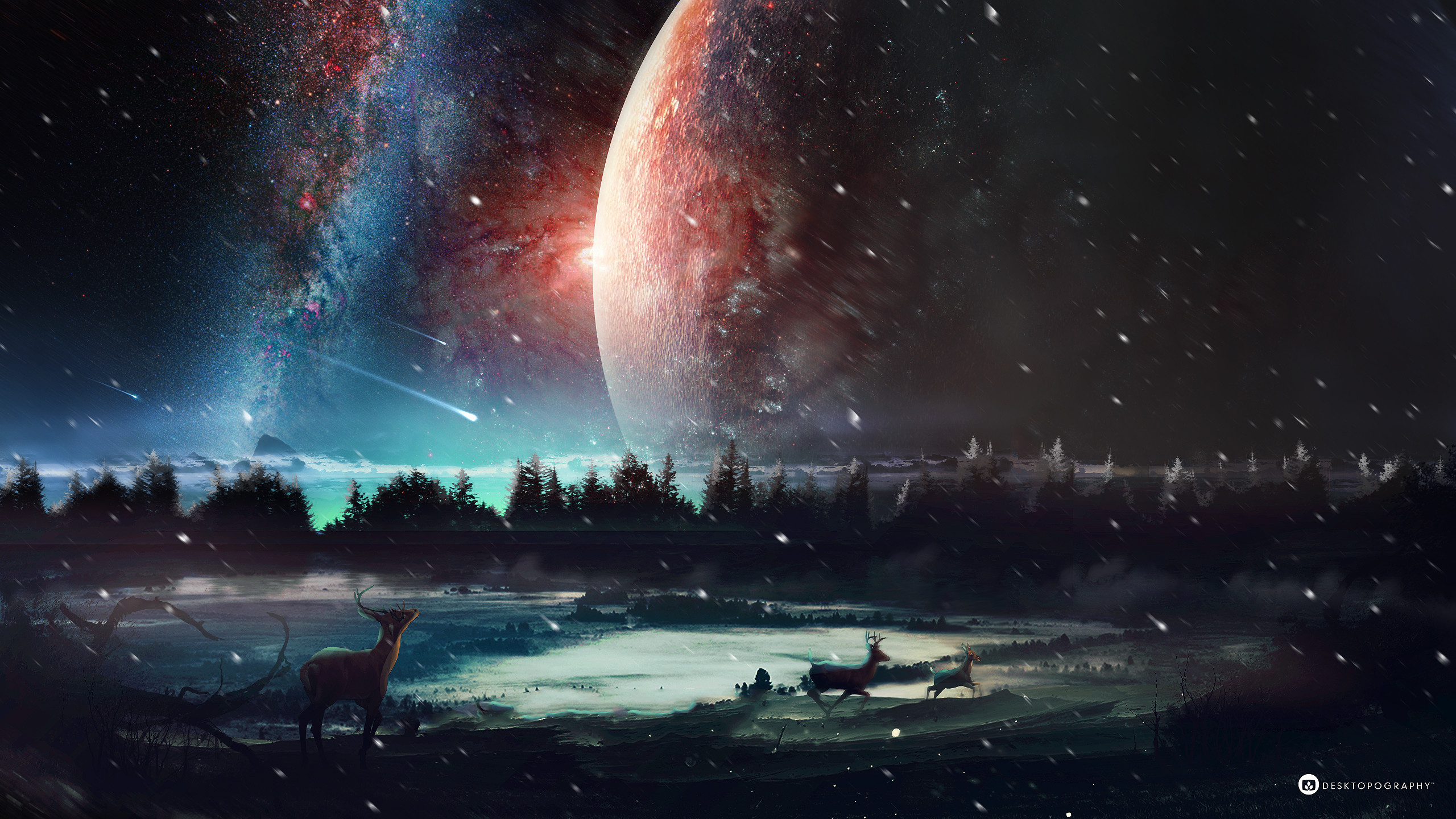 2560x1440 Space/Fantasy Wallpaper Set 74