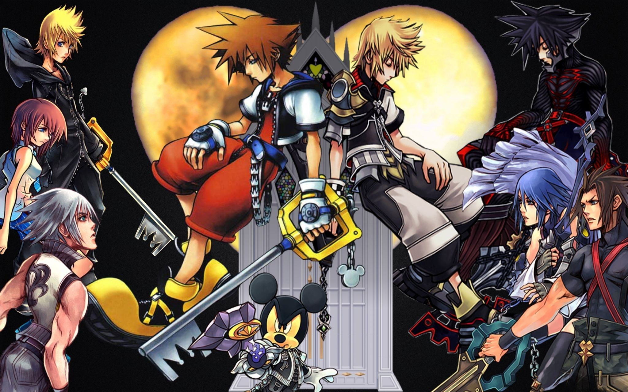 2048x1280 Kingdom hearts wallpapers for desktop - Kingdom Hearts Wallpaper Desktop  Backgrounds Download