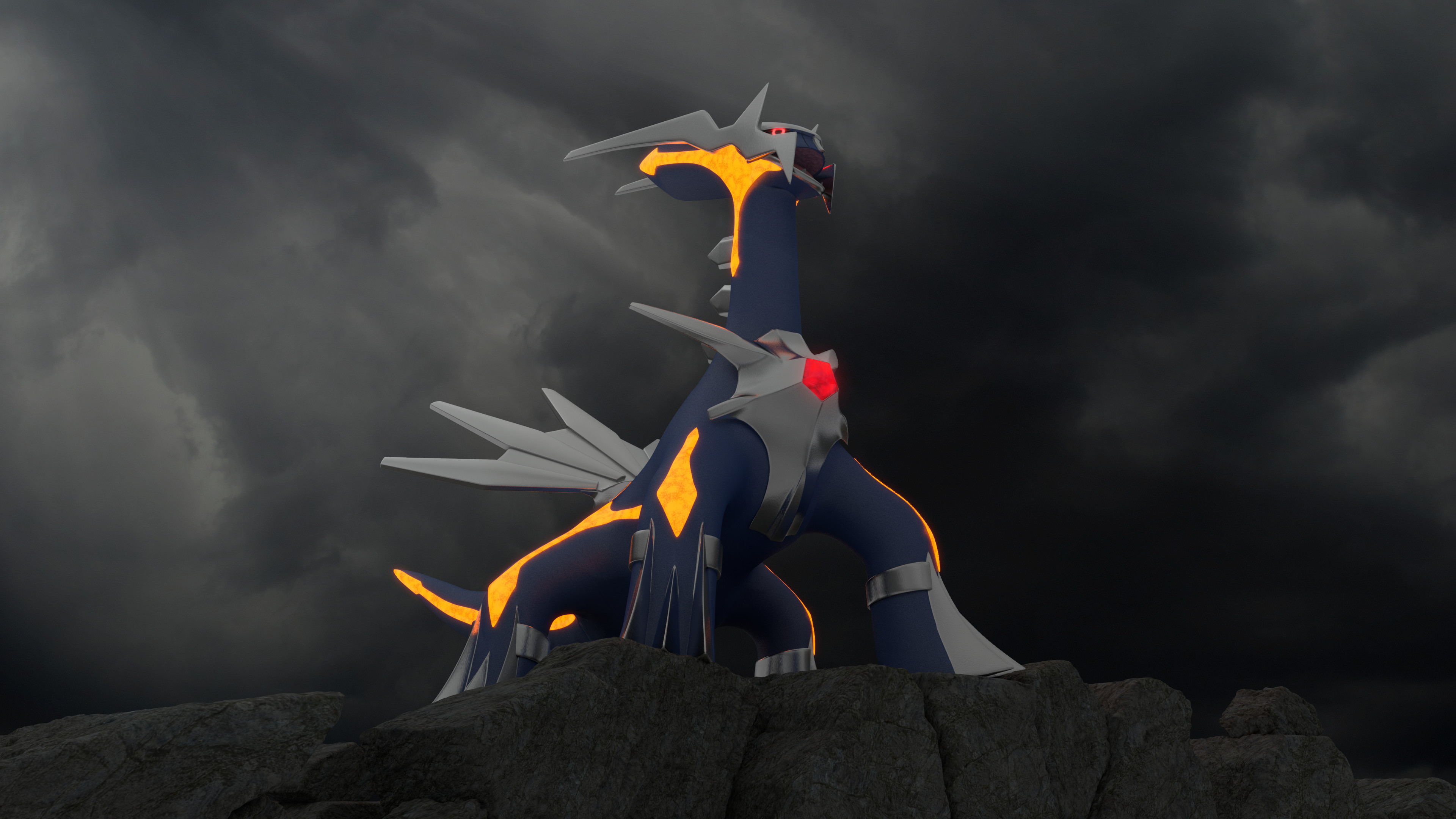 3840x2160 The original Primal: Dialga