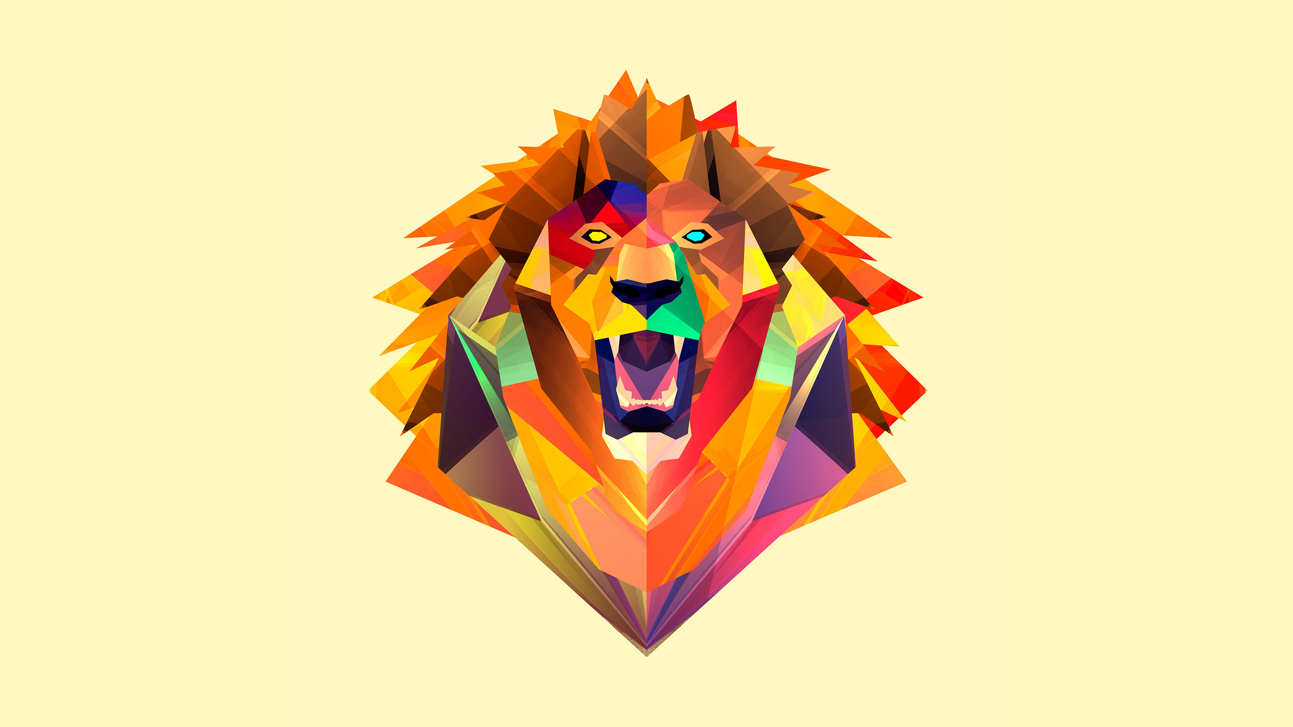 2560x1440 facets | Mufasa () 250 ⁄ 365 • 2013
