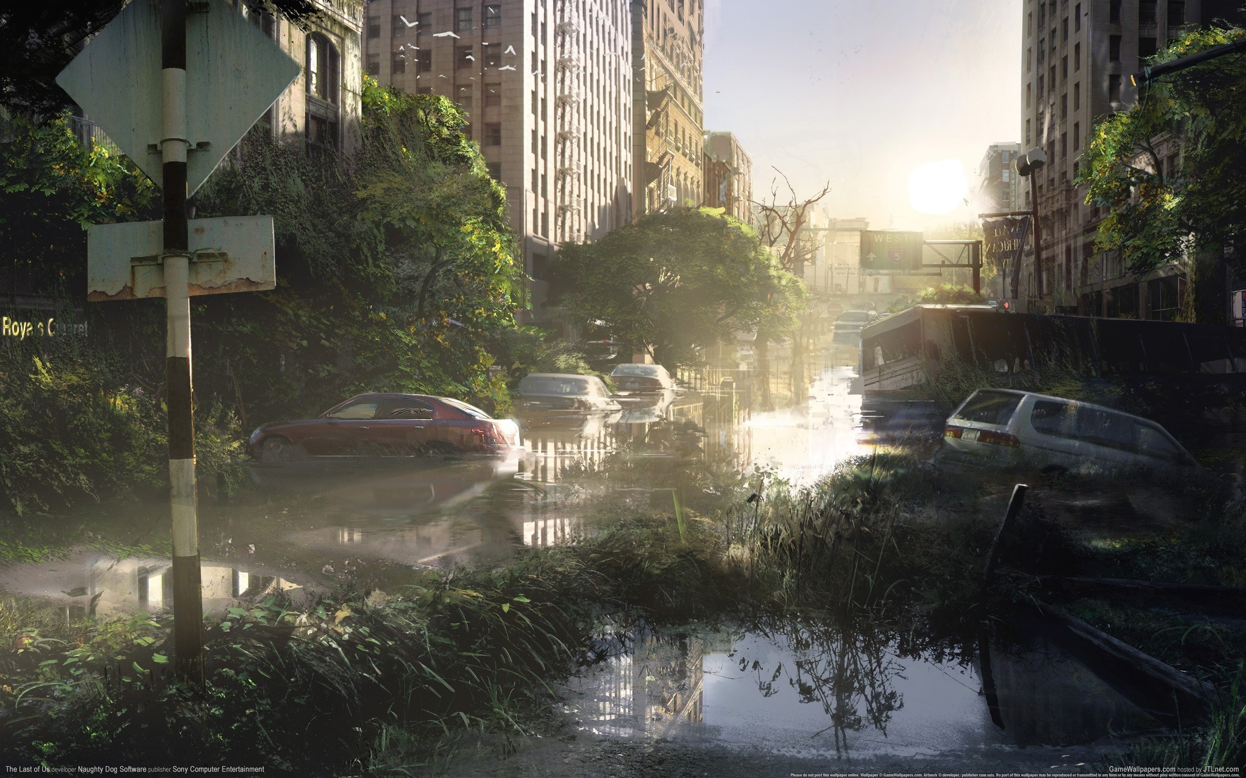2560x1600 The Last Of Us Zombie Sun Apocalypse ...