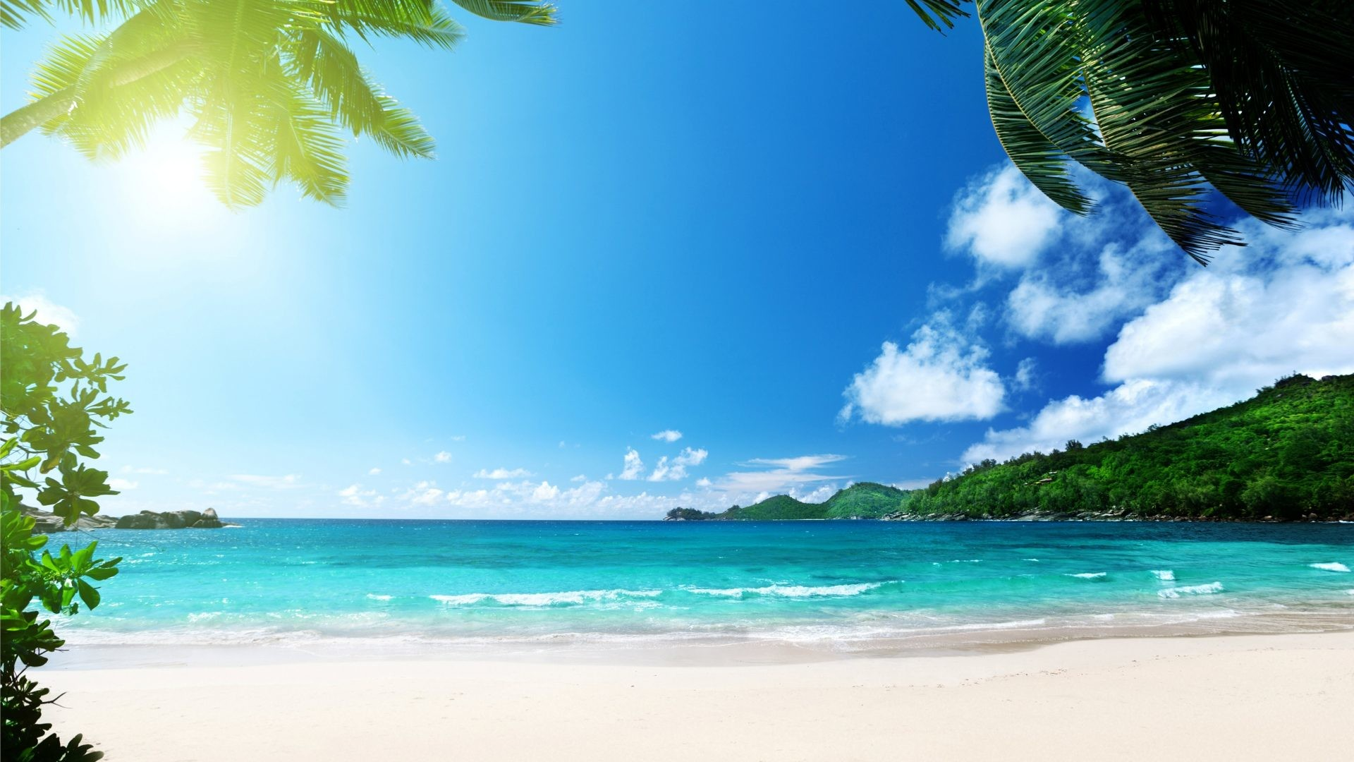 1920x1200 Free Download Summer Beach Wallpapers