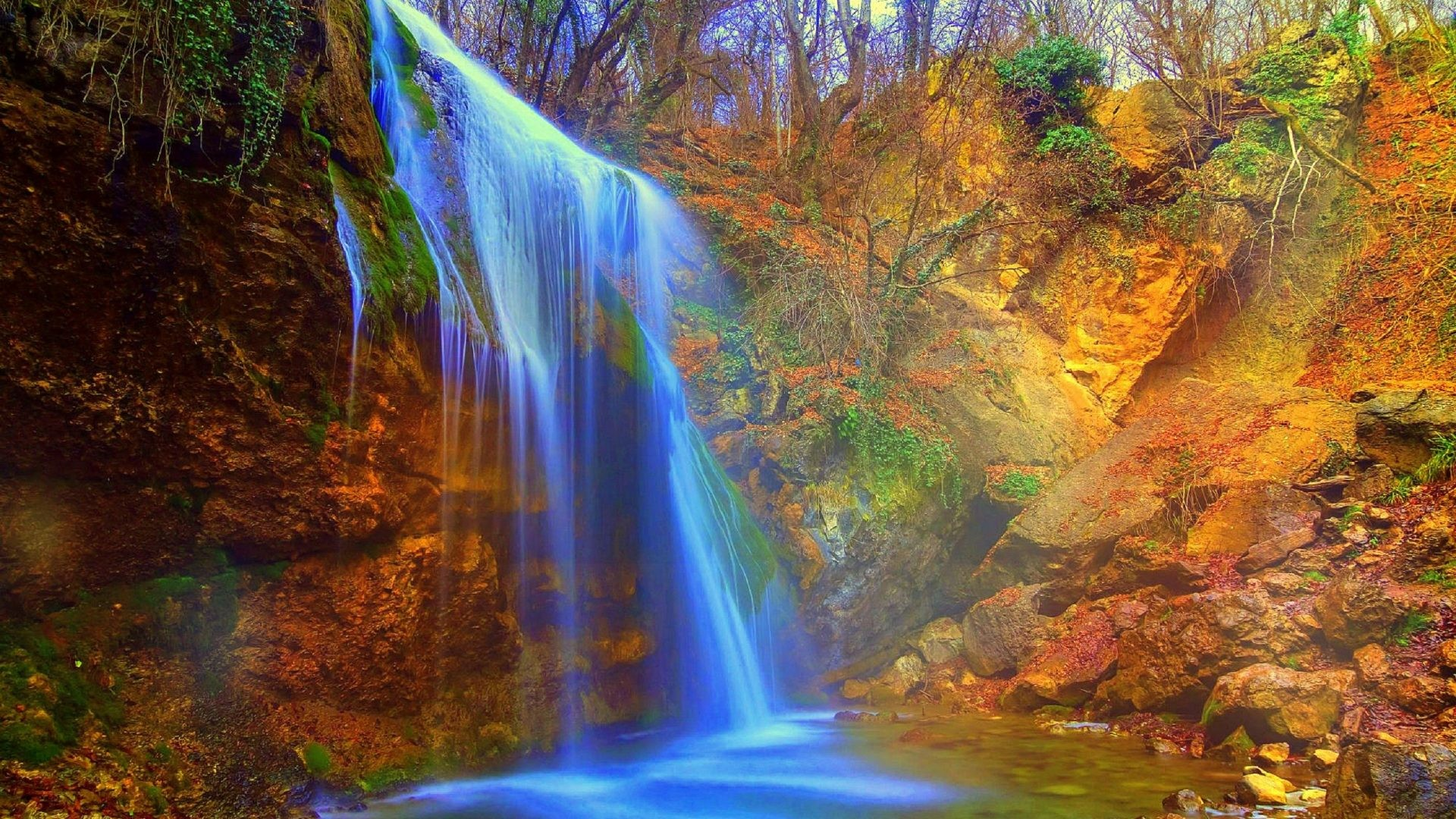 Popular Screensavers And Wallpaper 47 Images: Waterfall Screensavers Wallpapers (47+ Images