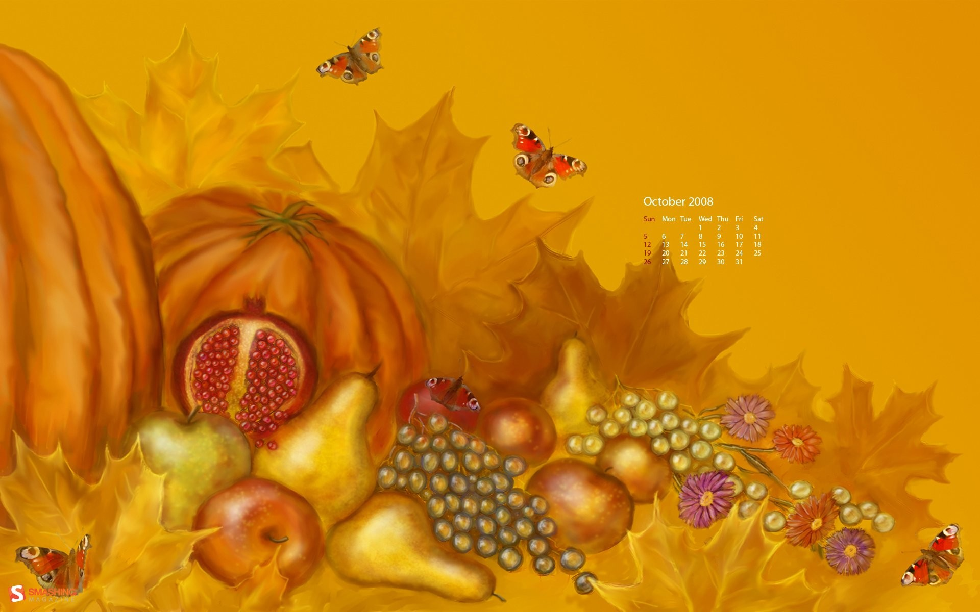 Calendar Live Wallpaper : October wallpaper backgrounds images