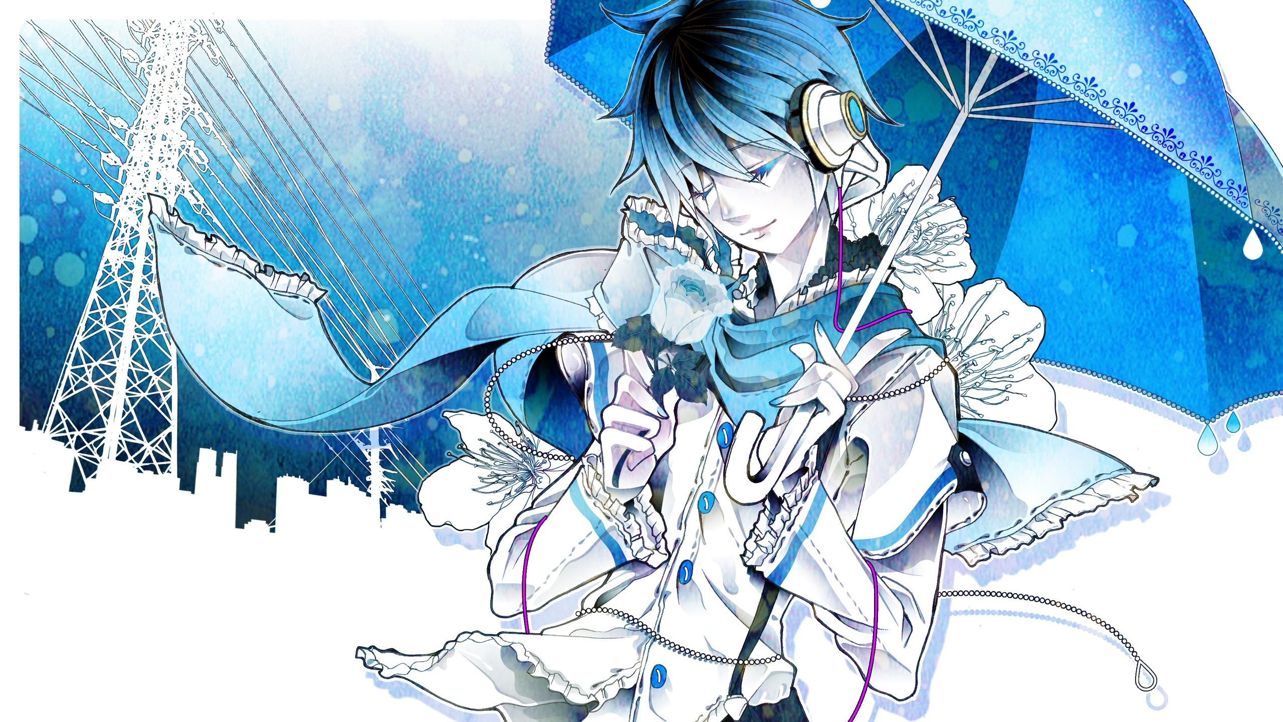 2560x1440 HD Kaito Vocaloid Backgrounds | Wallpapers, Backgrounds, Images .