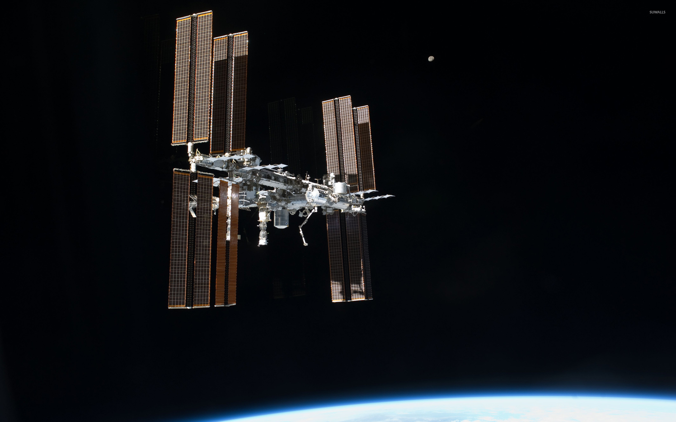 2560x1600 International Space Station [14] wallpaper  jpg