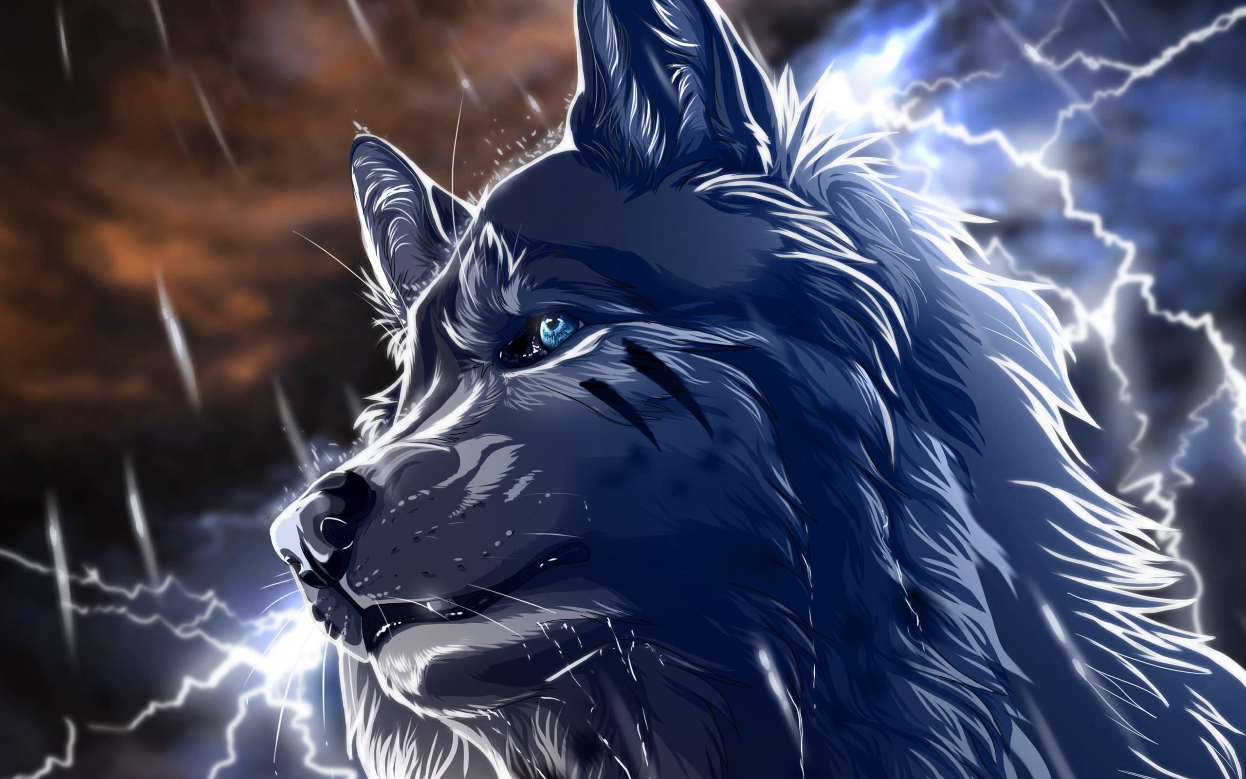 Cool Anime Wolf Wallpapers (56+ Images