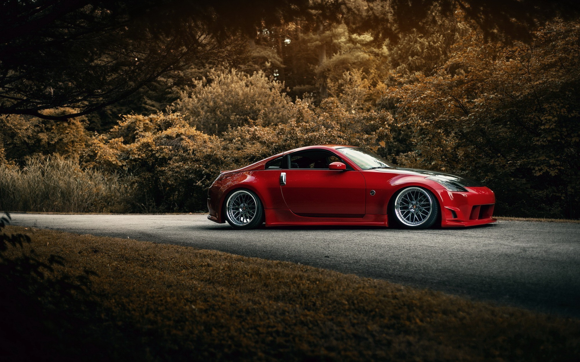 2000x1250 car, JDM, Nissan, Nissan 350Z Wallpapers HD / Desktop and Mobile Backgrounds