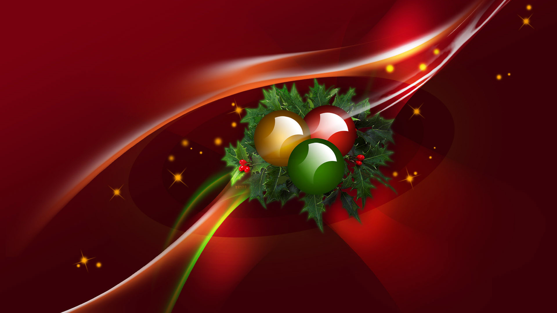 1920x1080 Christmas Backgrounds for Smart Phone and PC Desktop.