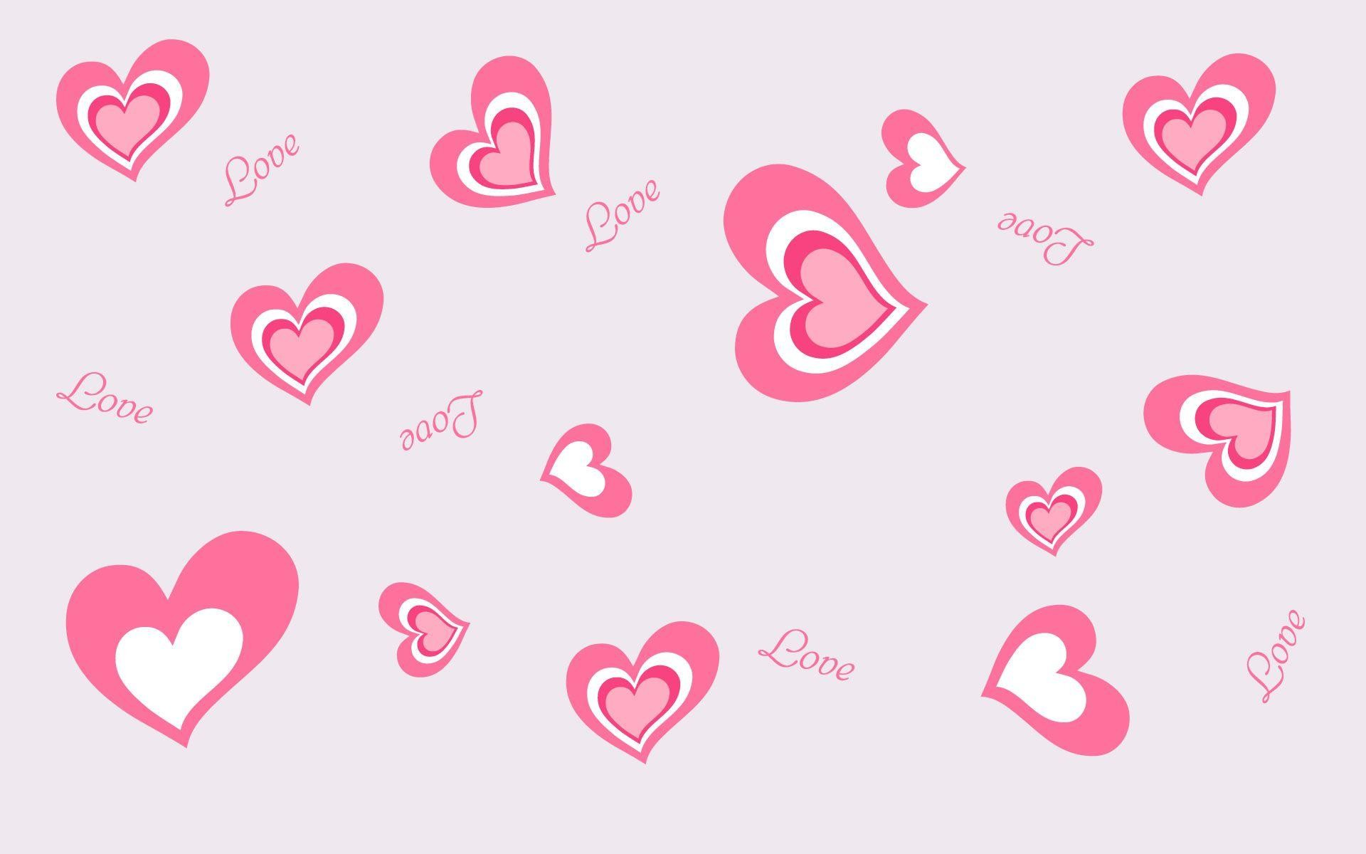 1920x1200 Most Downloaded Pink Hearts Wallpapers - Full HD wallpaper search