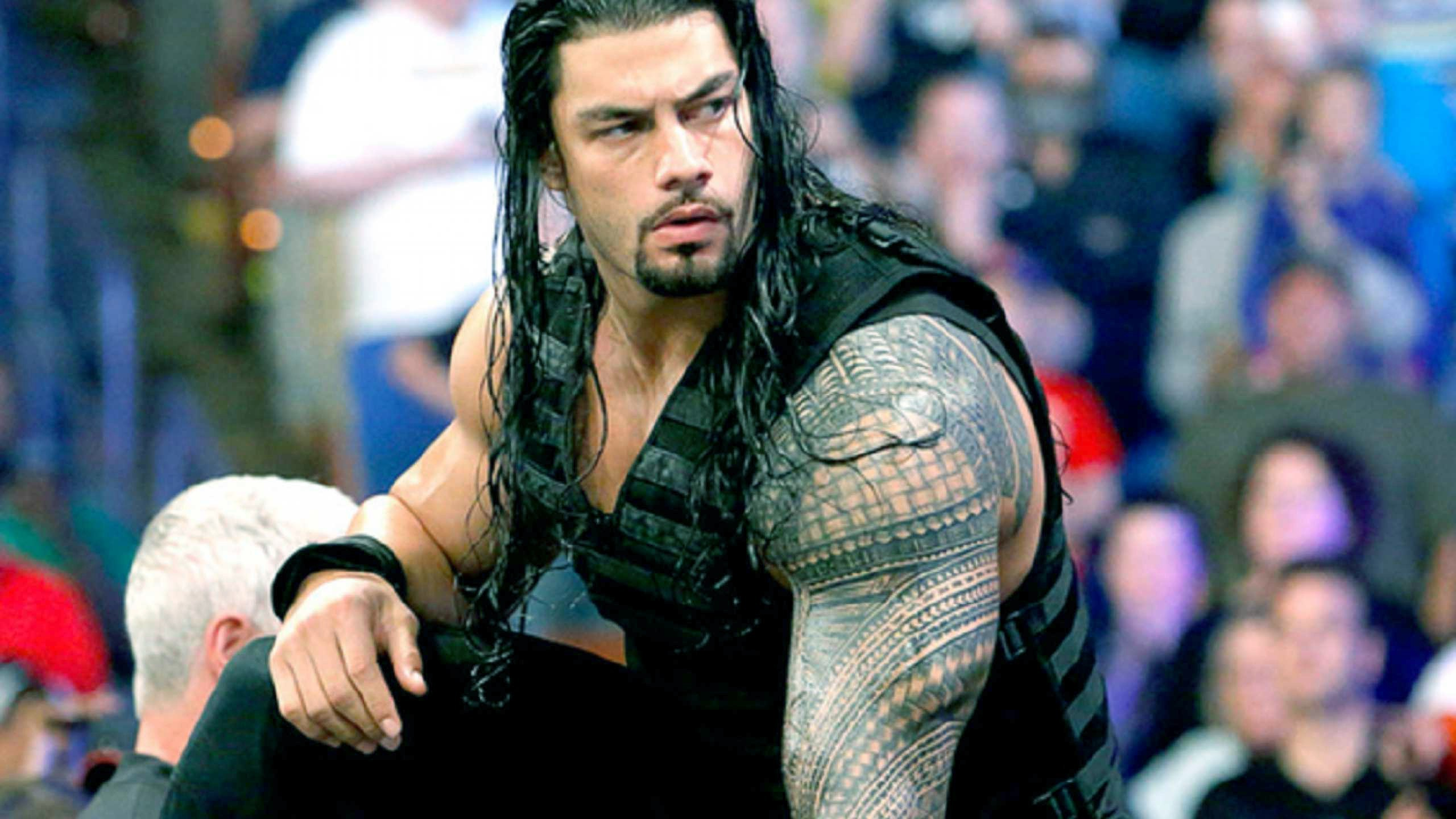 2560x1440 Roman Reigns Wrestler WWE 2016