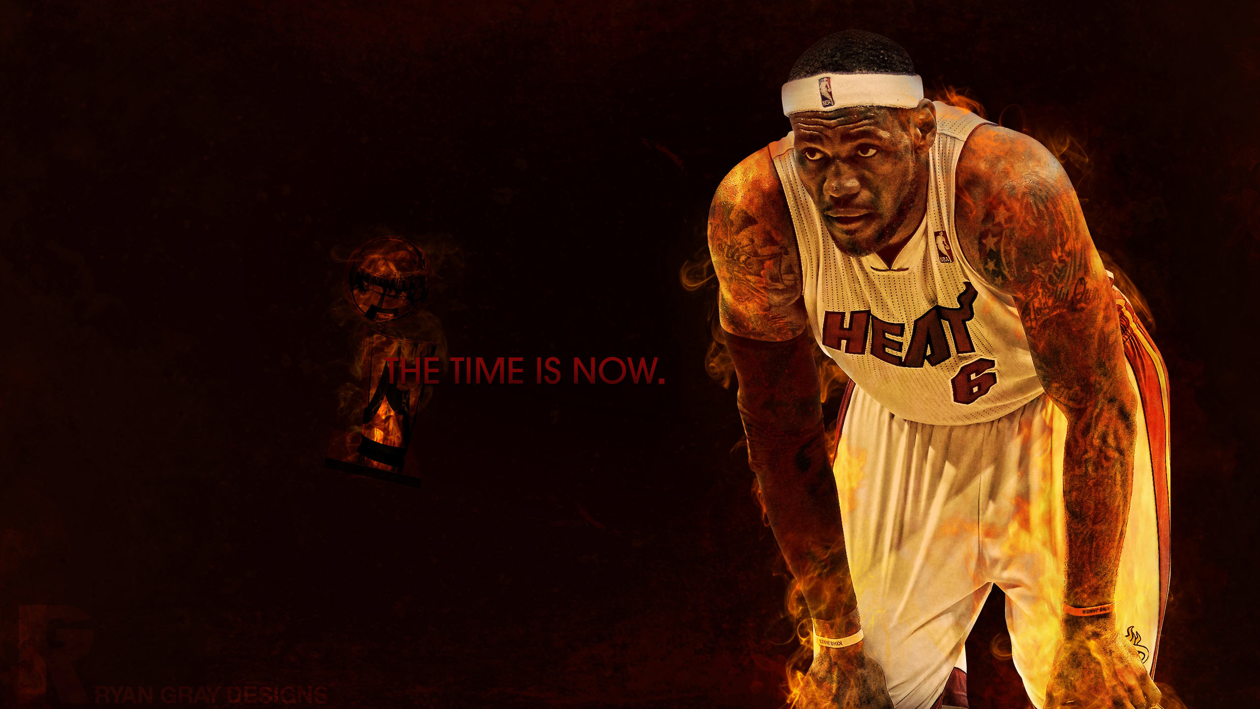 2560x1440 LeBron James NBA Wallpaper