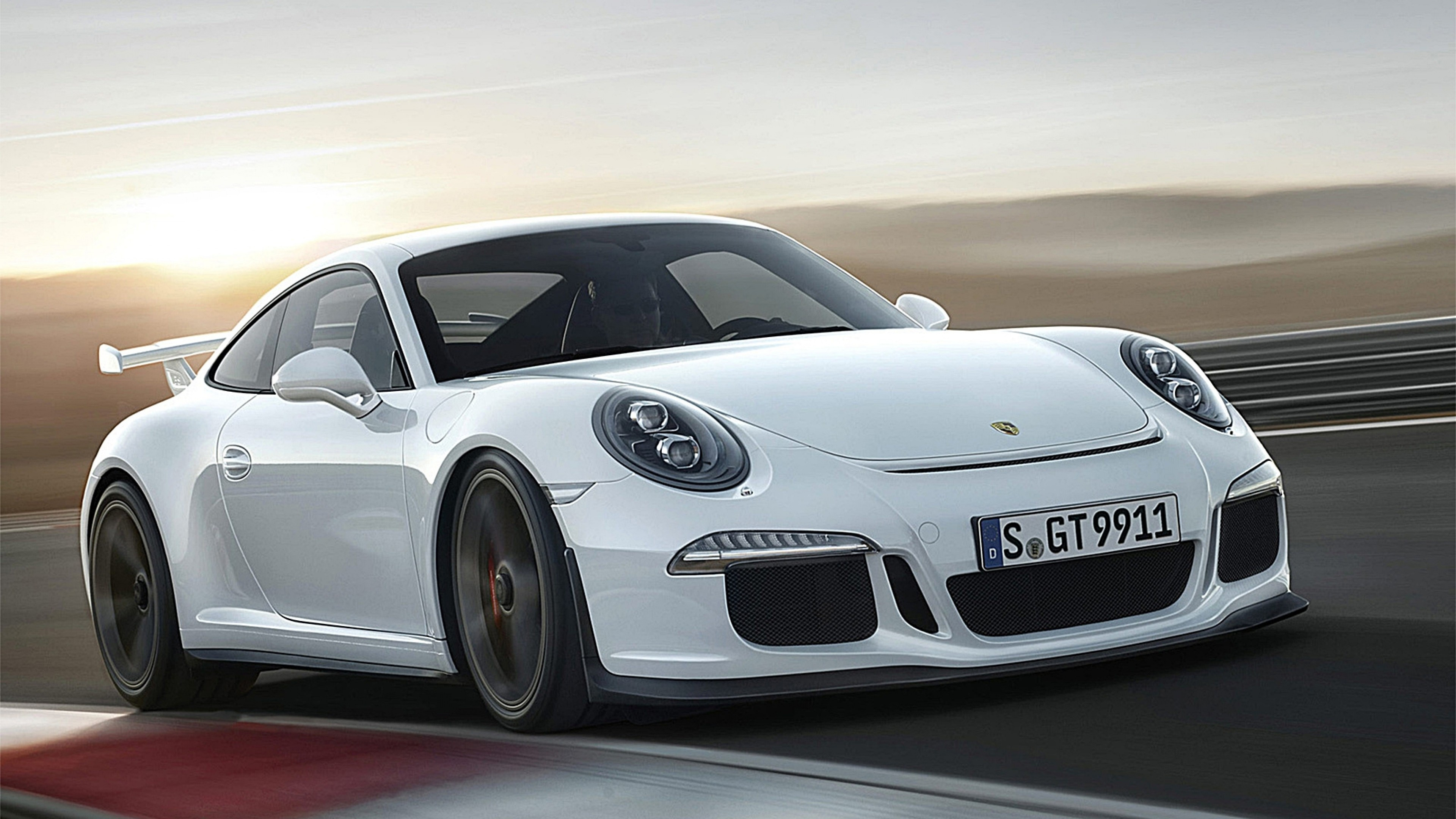 3840x2160 Preview wallpaper porsche 911 gt3, auto, car, cars