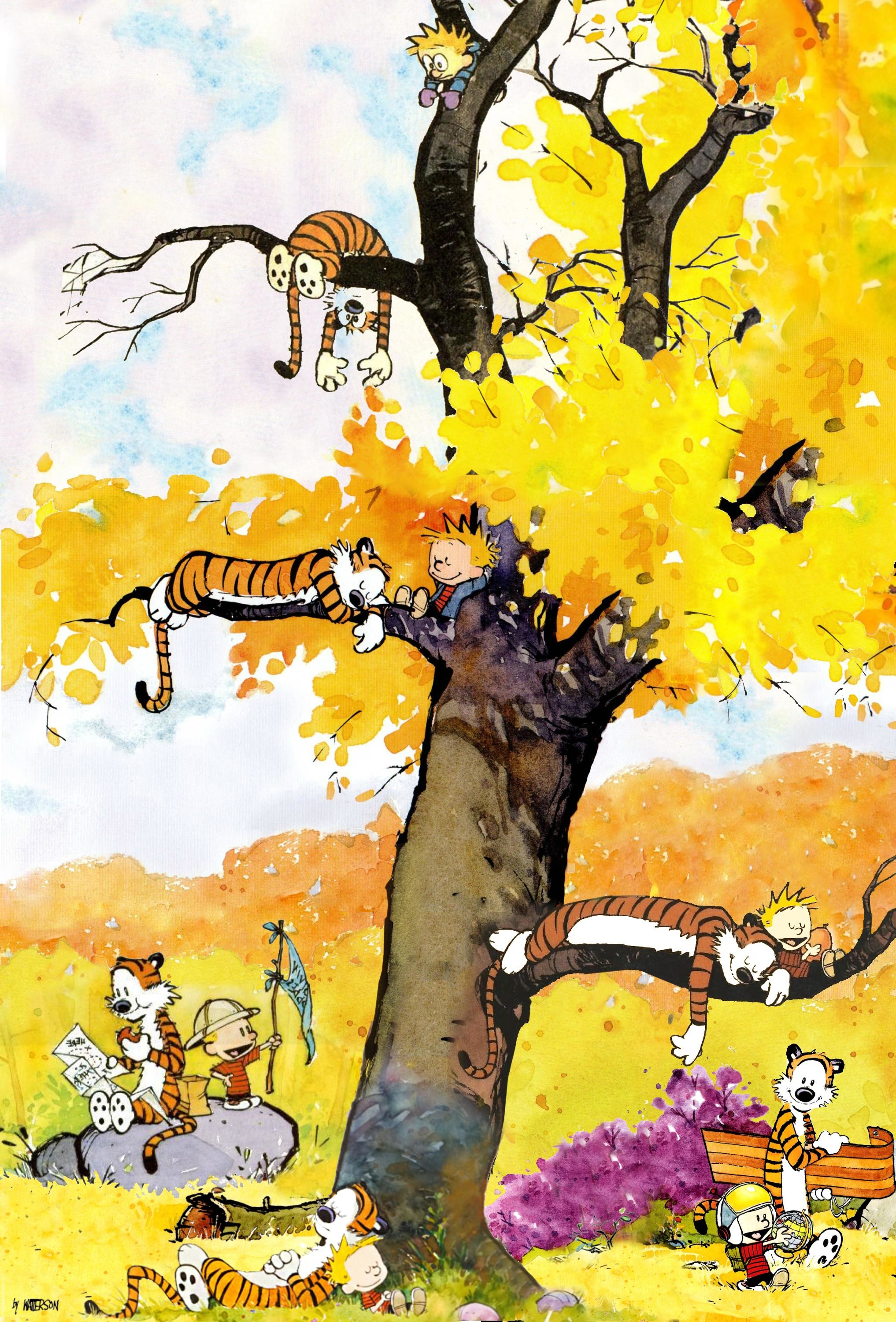 Calvin and Hobbes iPhone Wallpaper (74+ images)
