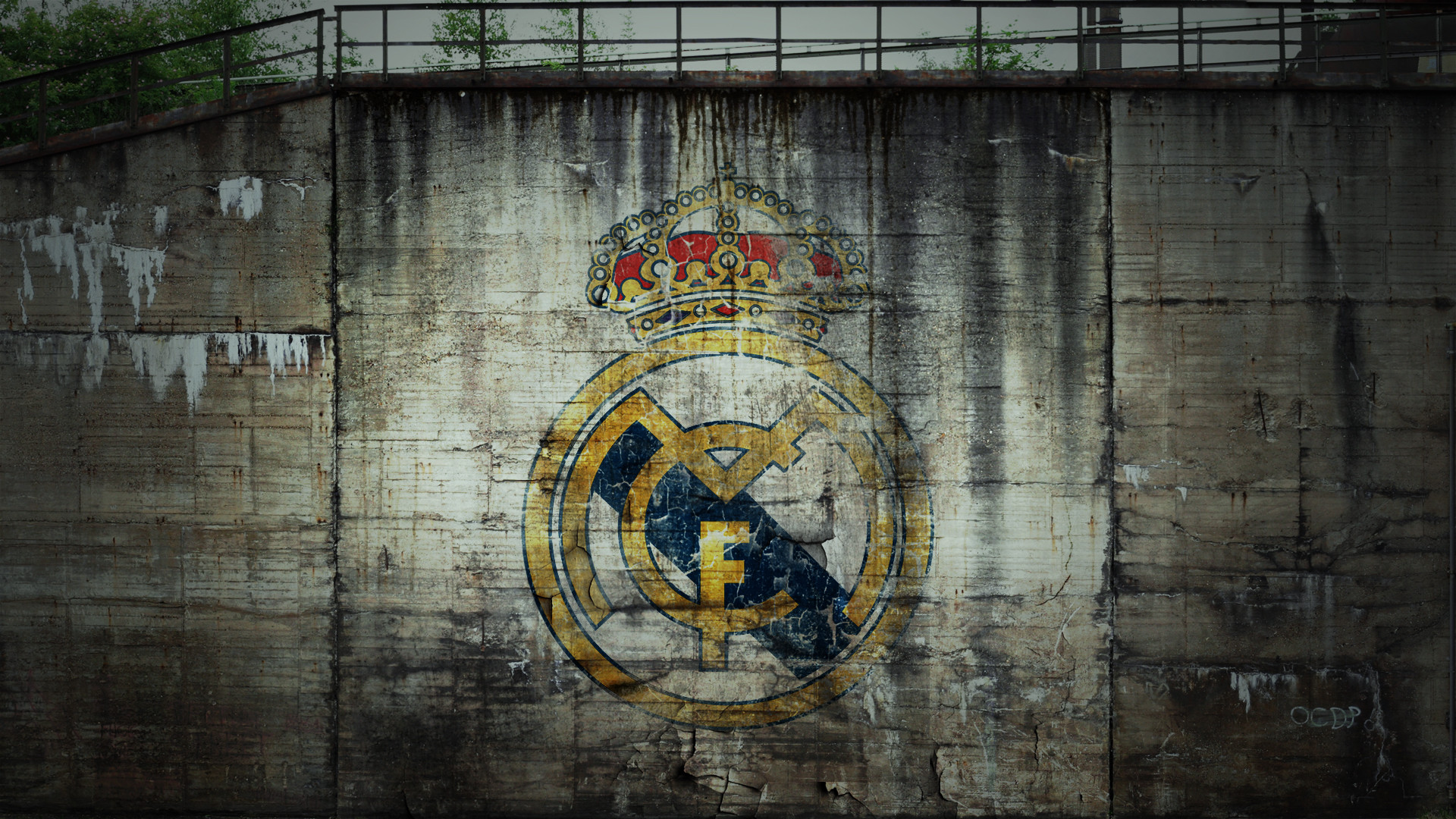 1920x1080 Real Madrid Logo Art Photo.