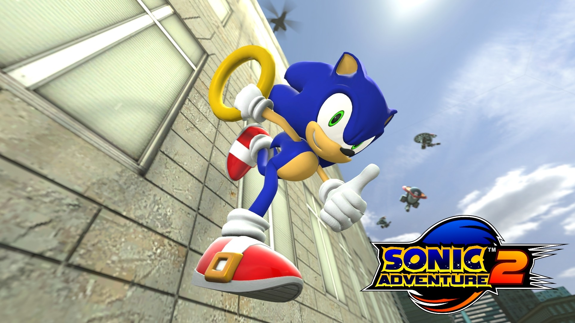 1920x1080 ... Sonic Adventure 2 | Sonic by TheRiverKruse