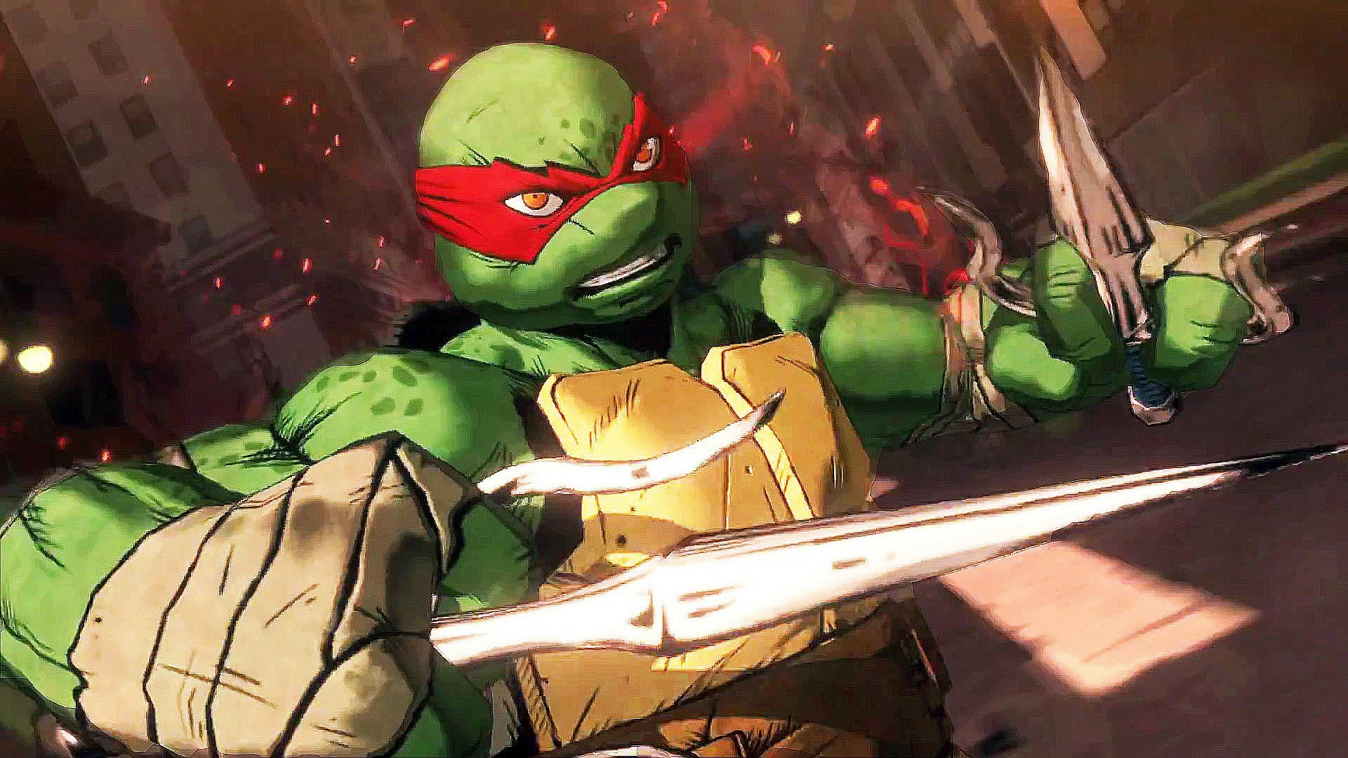 1920x1080 PS4 - Teenage Mutant Ninja Turtles : Mutants in Manhattan Trailer