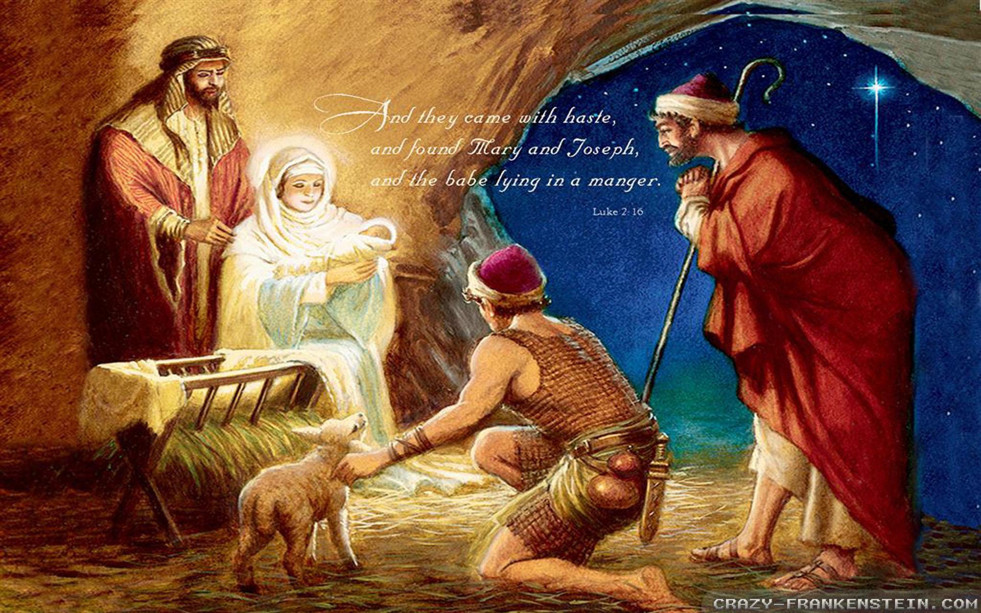 christmas nativity scene wallpaper  59  images