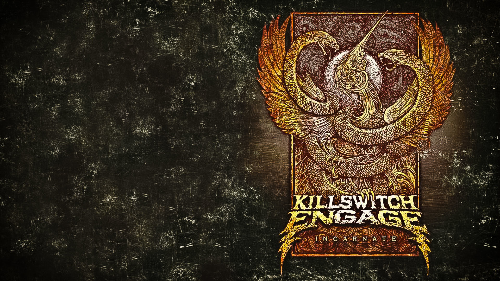 1920x1080 Killswitch Engage Incarnate based Wallpaper Hate by Design Strength of the  mind