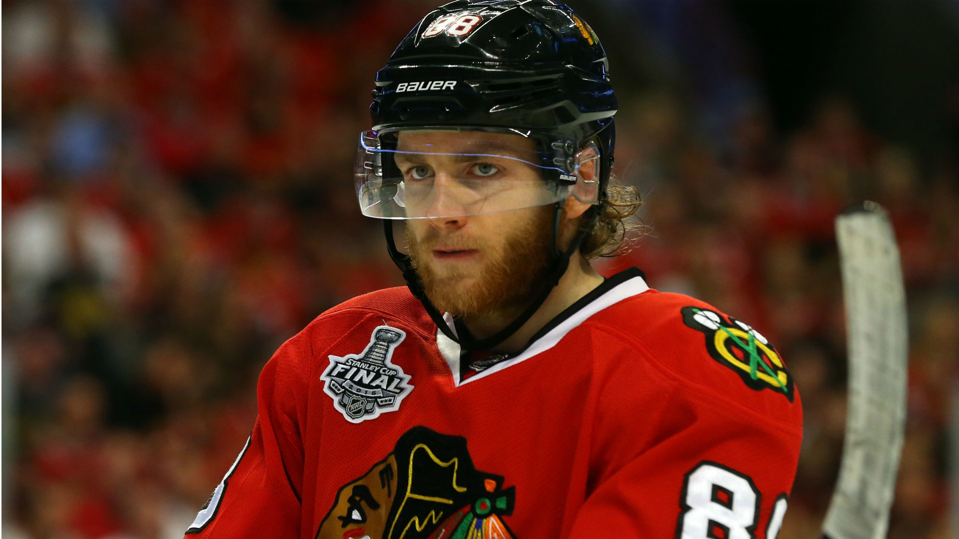 1920x1080 Patrick Kane greeted with applause in Blackhawks' preseason opener | NHL |  Sporting News