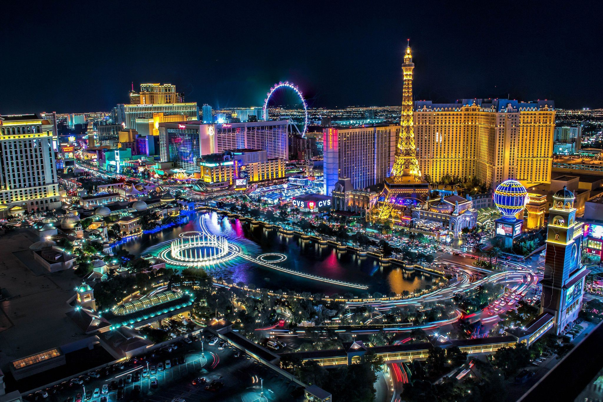 2048x1365 Las Vegas 4K Las Vegas Background Las Vegas Computer Backgrounds ...