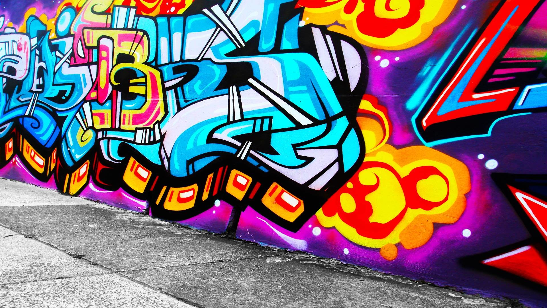 Grafiti Background (70+ images)
