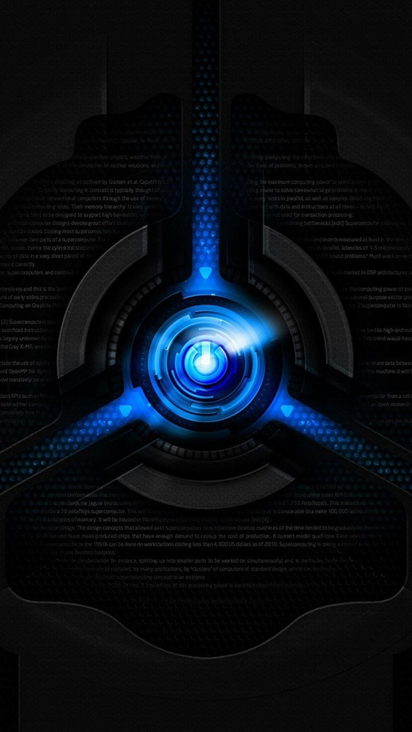 1440x2560 ... cool blue and black wallpapers for android ...