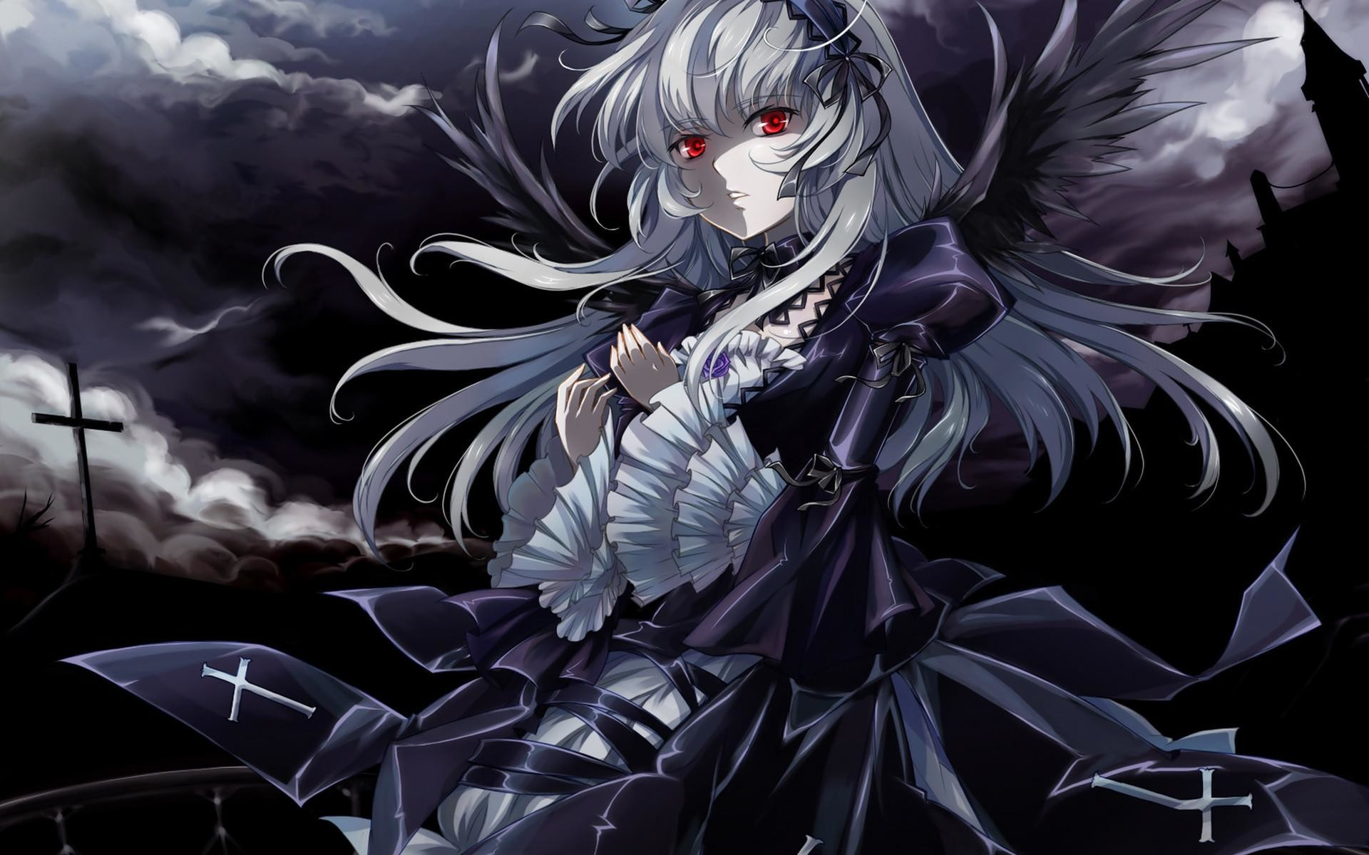 1920x1200 Samael Girl Art Hair Word Epic Anime Wallpaper For Iphone | Happy .