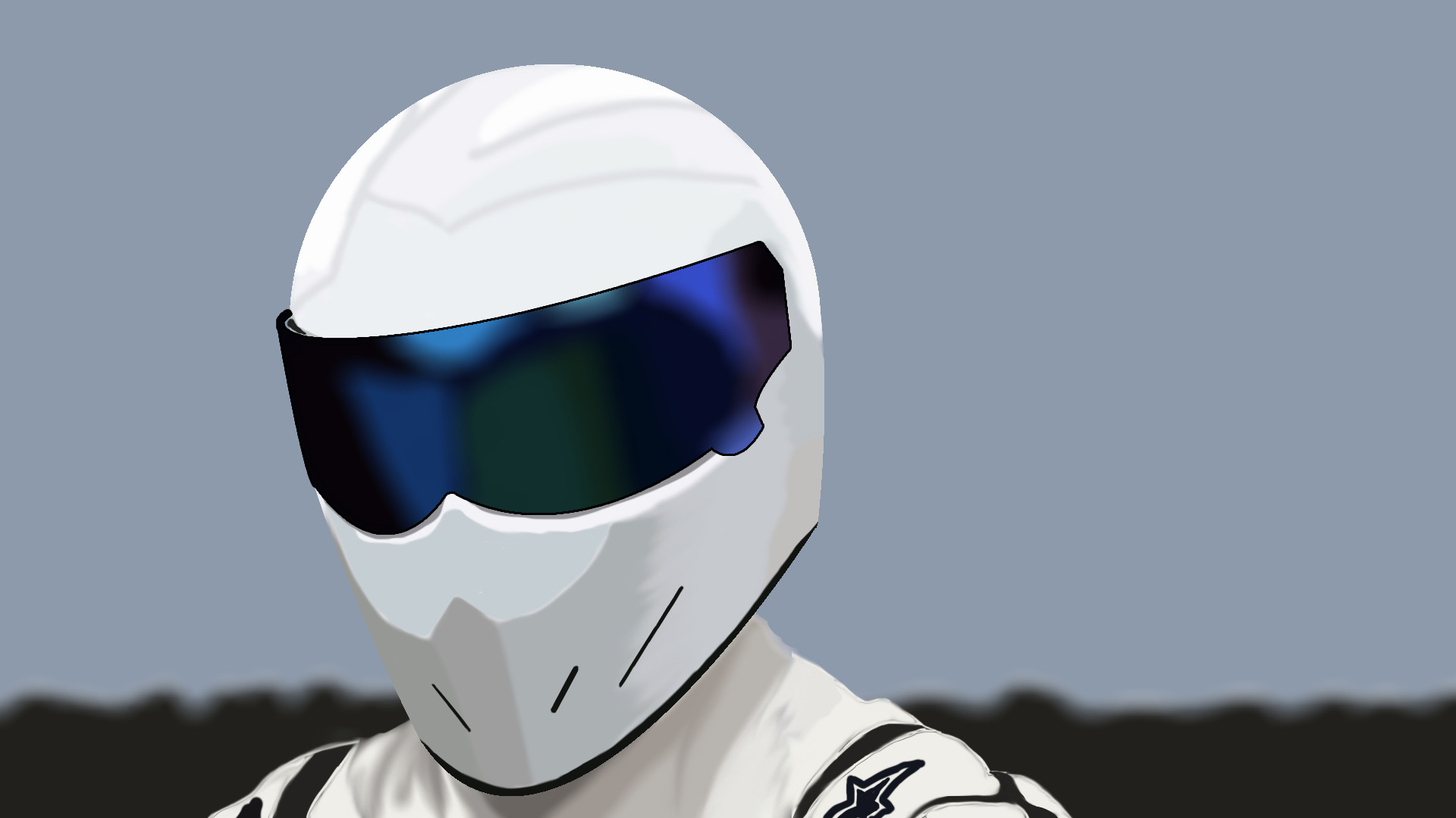 1920x1080 (Top Gear) by MrIDrawThings The Stig! (Top Gear) by MrIDrawThings