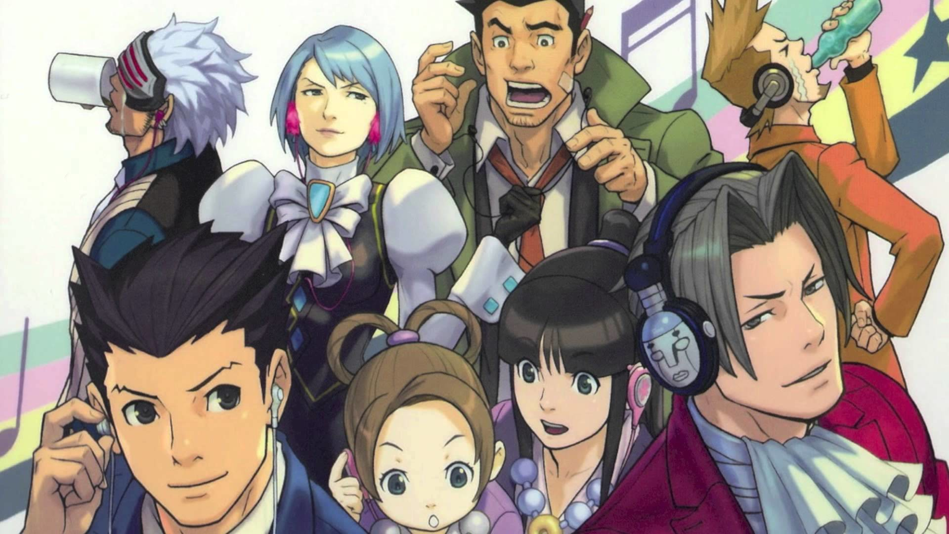Ace Attorney Wallpaper 72 Images