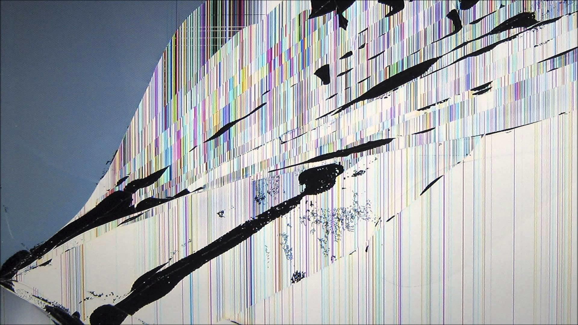 cracked screen wallpaper tablet