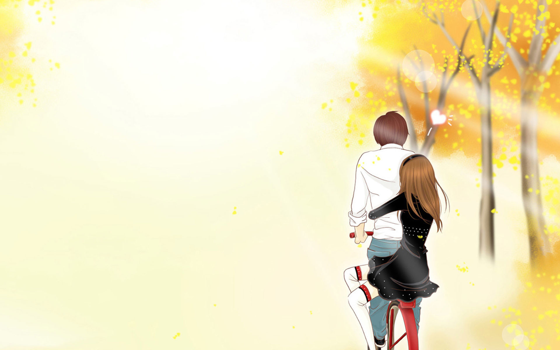 1920x1200 Romantic journey anime wallpaper comics desktop background | Cartoon .