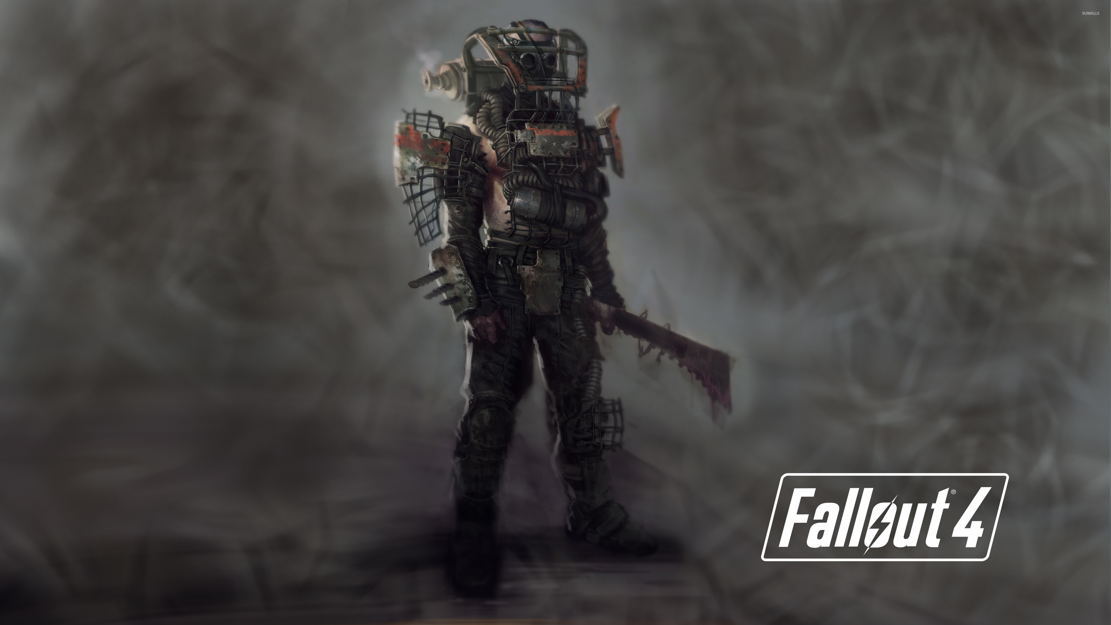3840x2160  Raider in Fallout 4 wallpaper  jpg