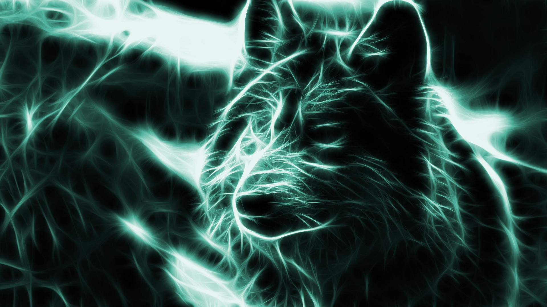1920x1080 neon wolf wallpaper backgrounds 3d -#main