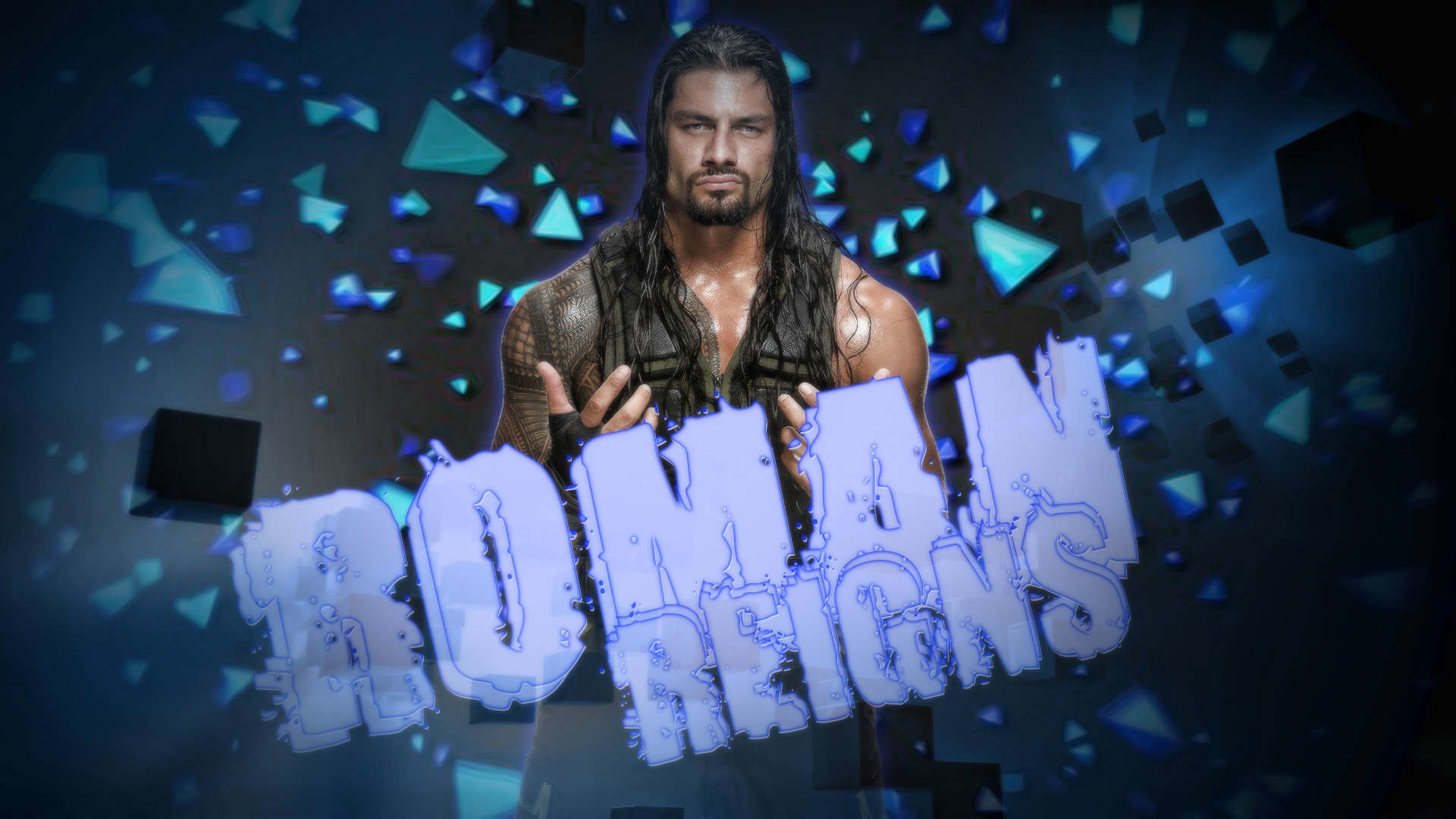 1920x1080 WWE Roman Reigns Desktop Wallpapers