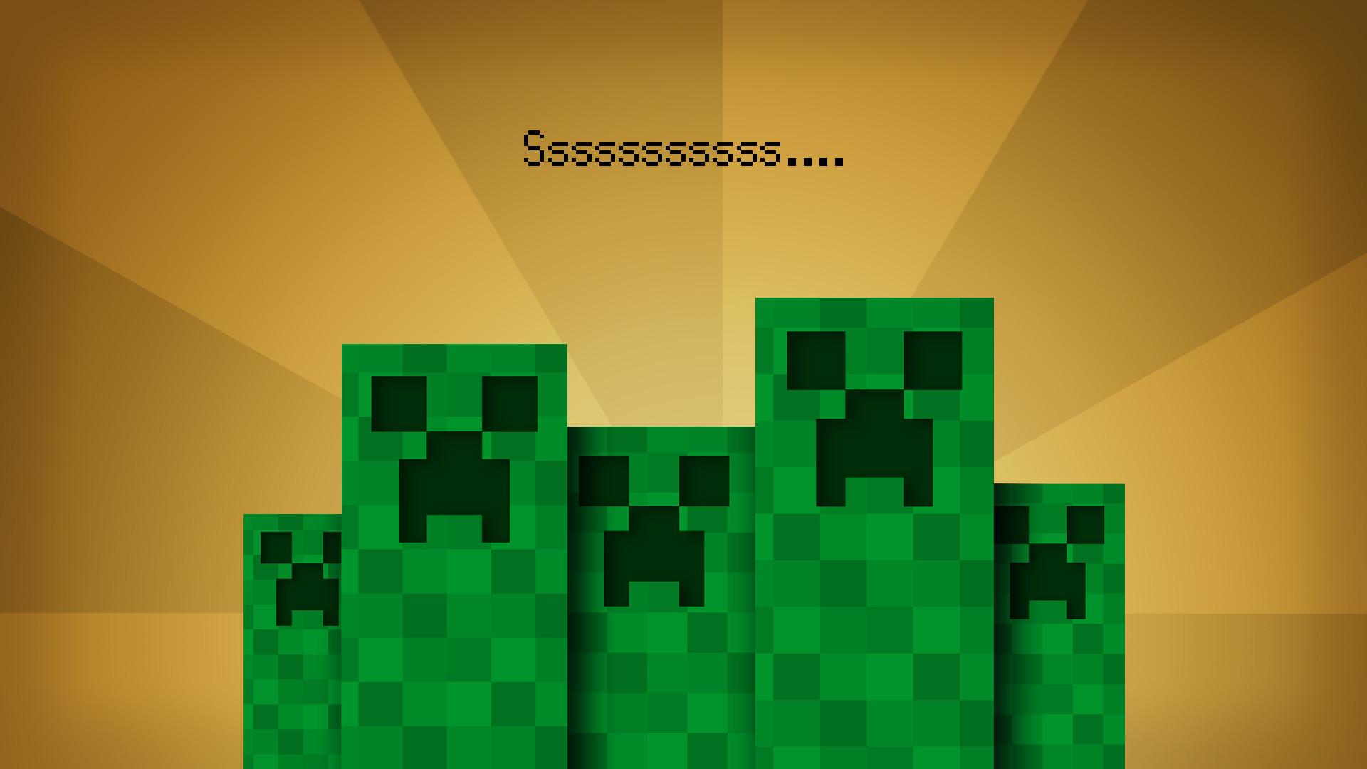 1920x1080 Creeper Minecraft Wallpapers HD Wallpaper