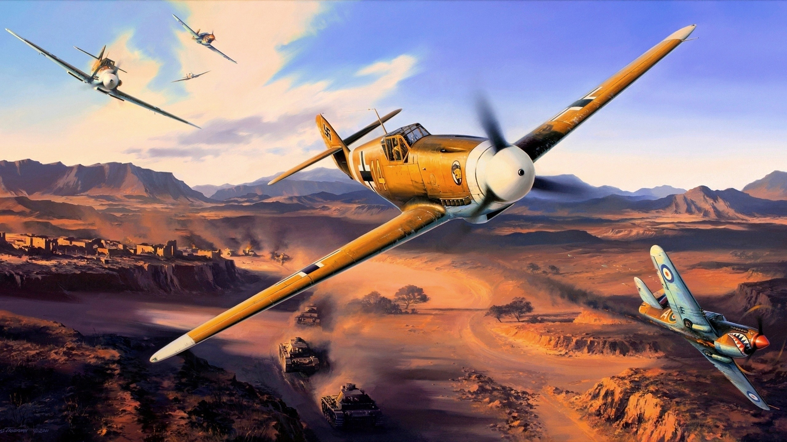 Hd Ww2 Plane Wallpapers 74 Images