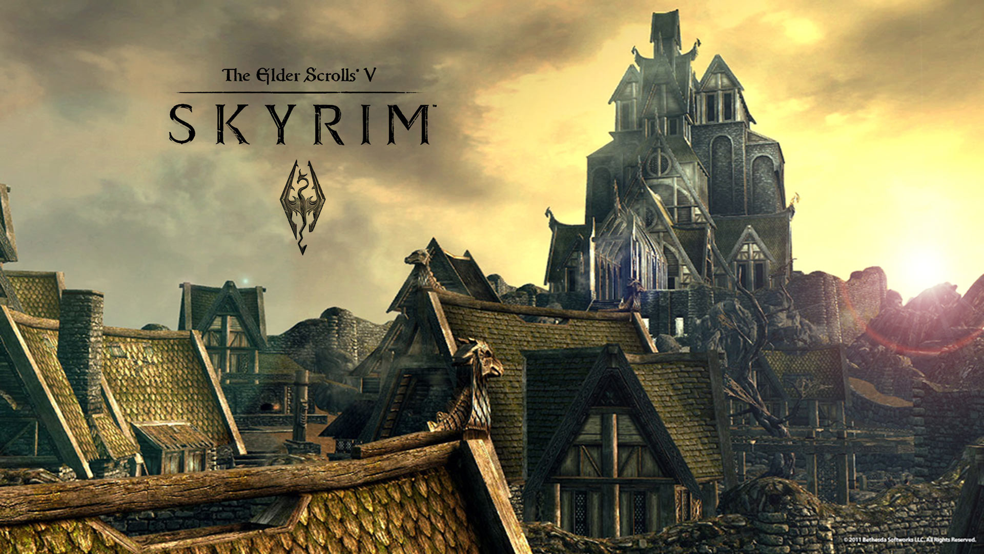 Skyrim Wallpapers 77 Images