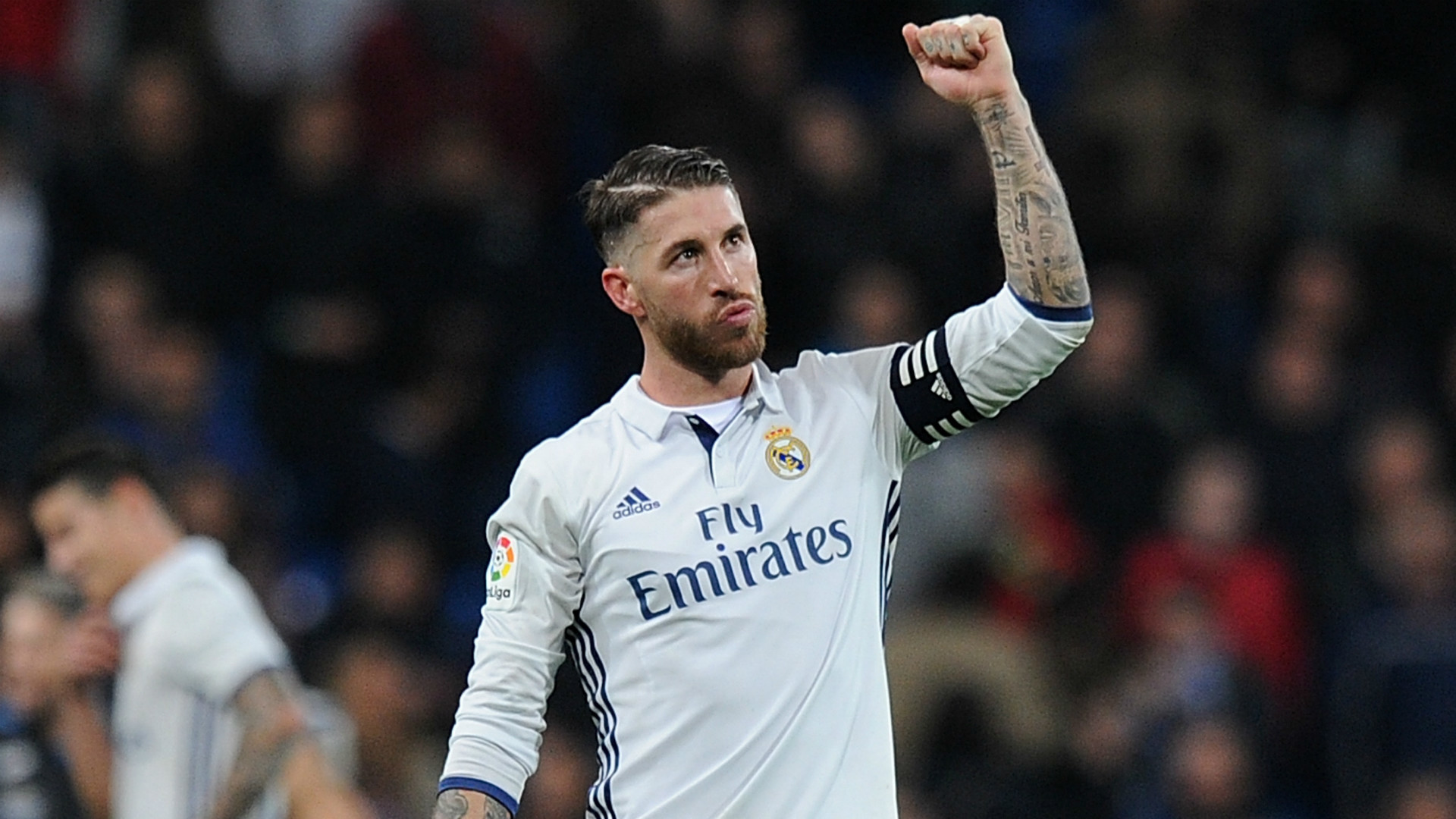 1920x1080 Real Madrid captain Sergio Ramos happy to see Barcelona lose