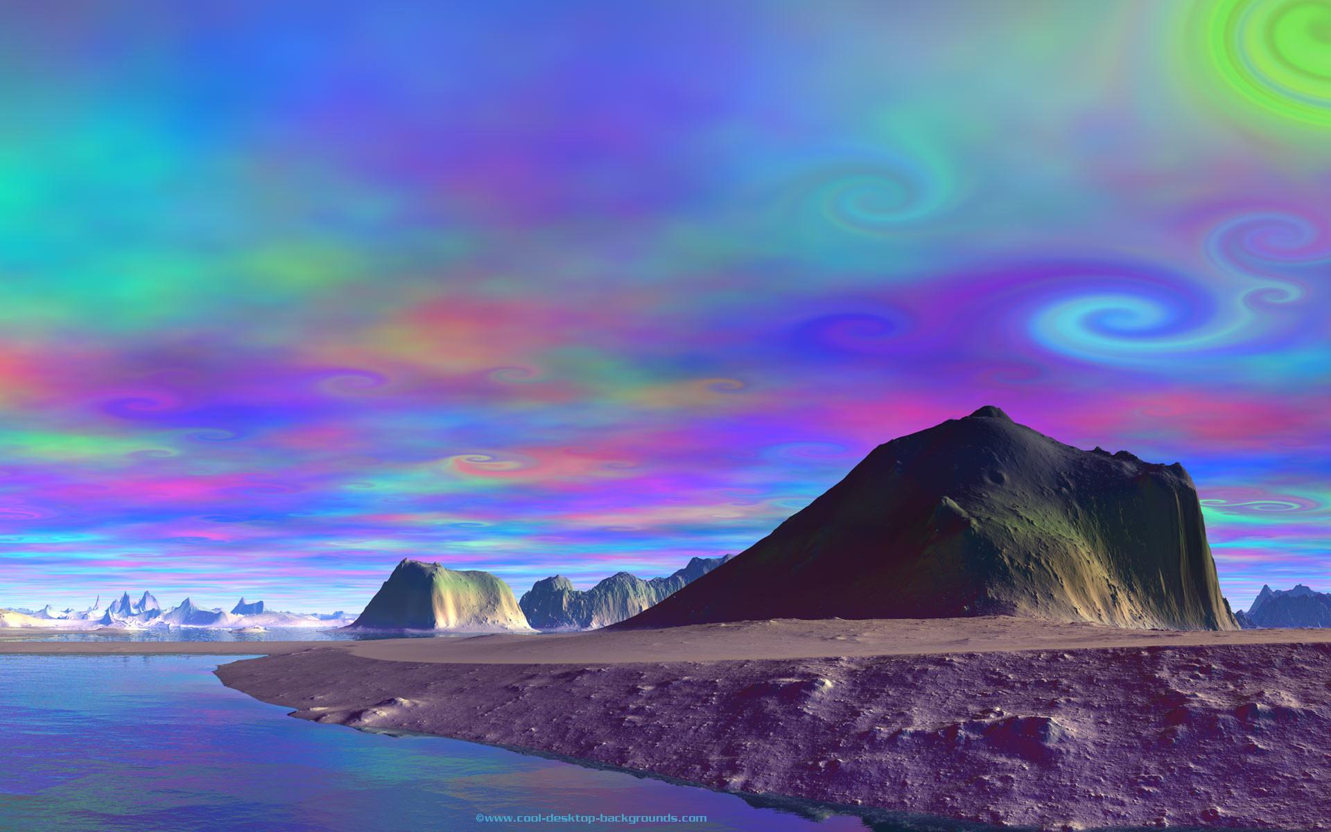 Alien planet landscapes wallpaper 66 images - Alien desktop ...